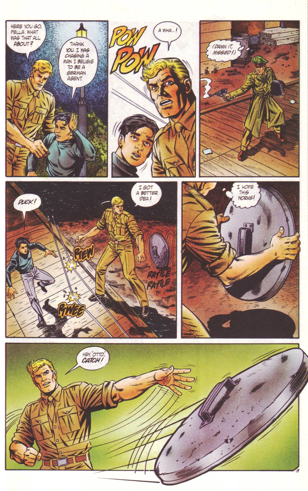 Read online Sting of The Green Hornet comic -  Issue #2 - 20
