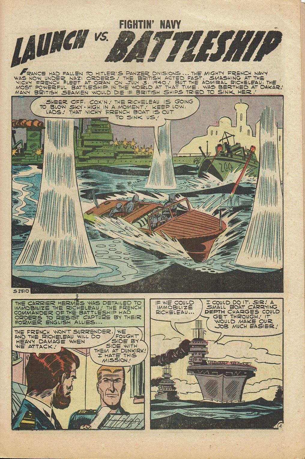 Read online Fightin' Navy comic -  Issue #81 - 23