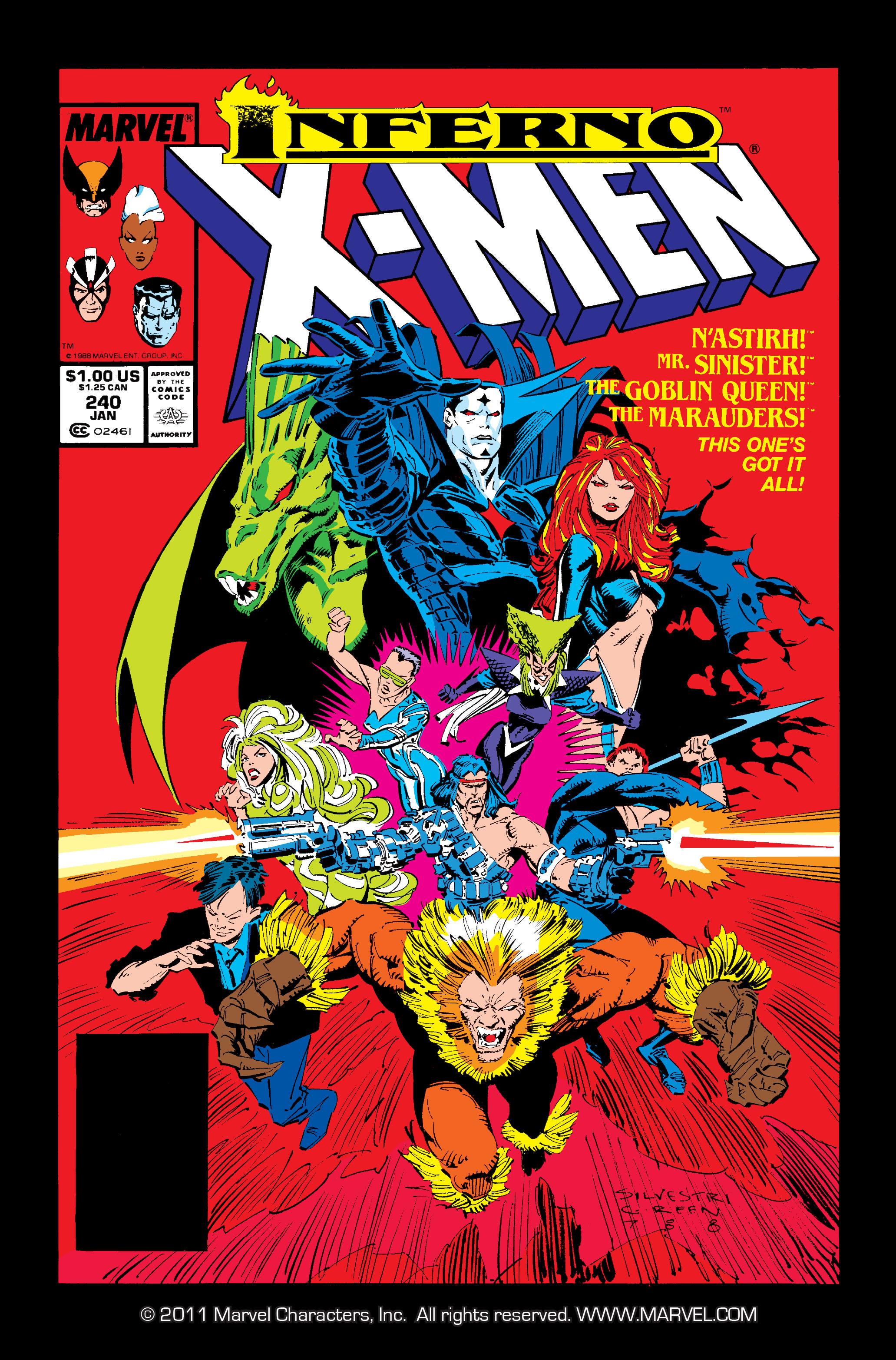 Uncanny X-Men (1963) 240 Page 1