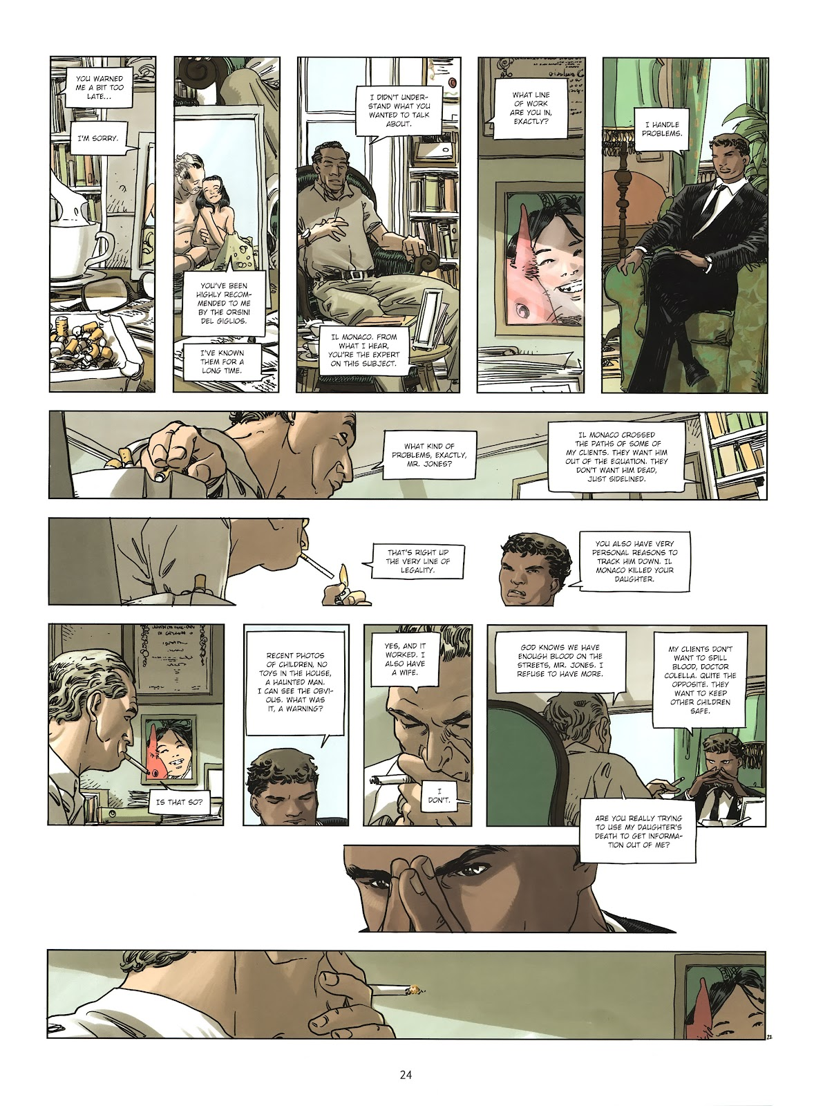 Read online Cutting Edge (2013) comic -  Issue #2 - 23