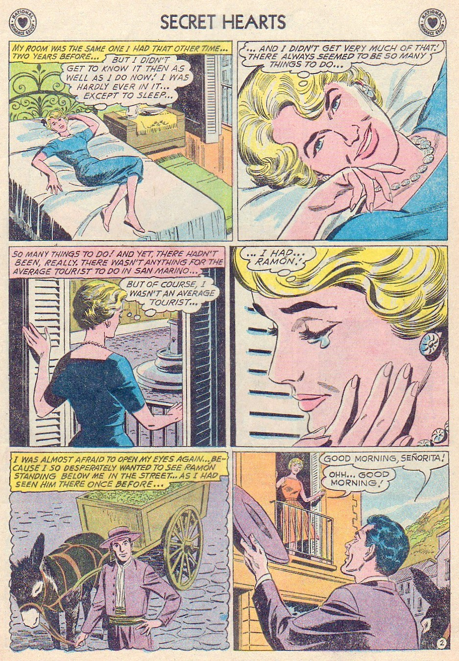 Read online Secret Hearts comic -  Issue #72 - 13