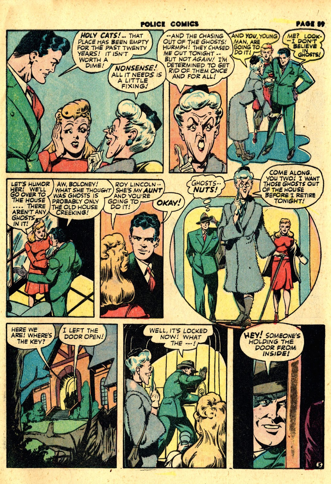 Police Comics issue 19 - Page 61