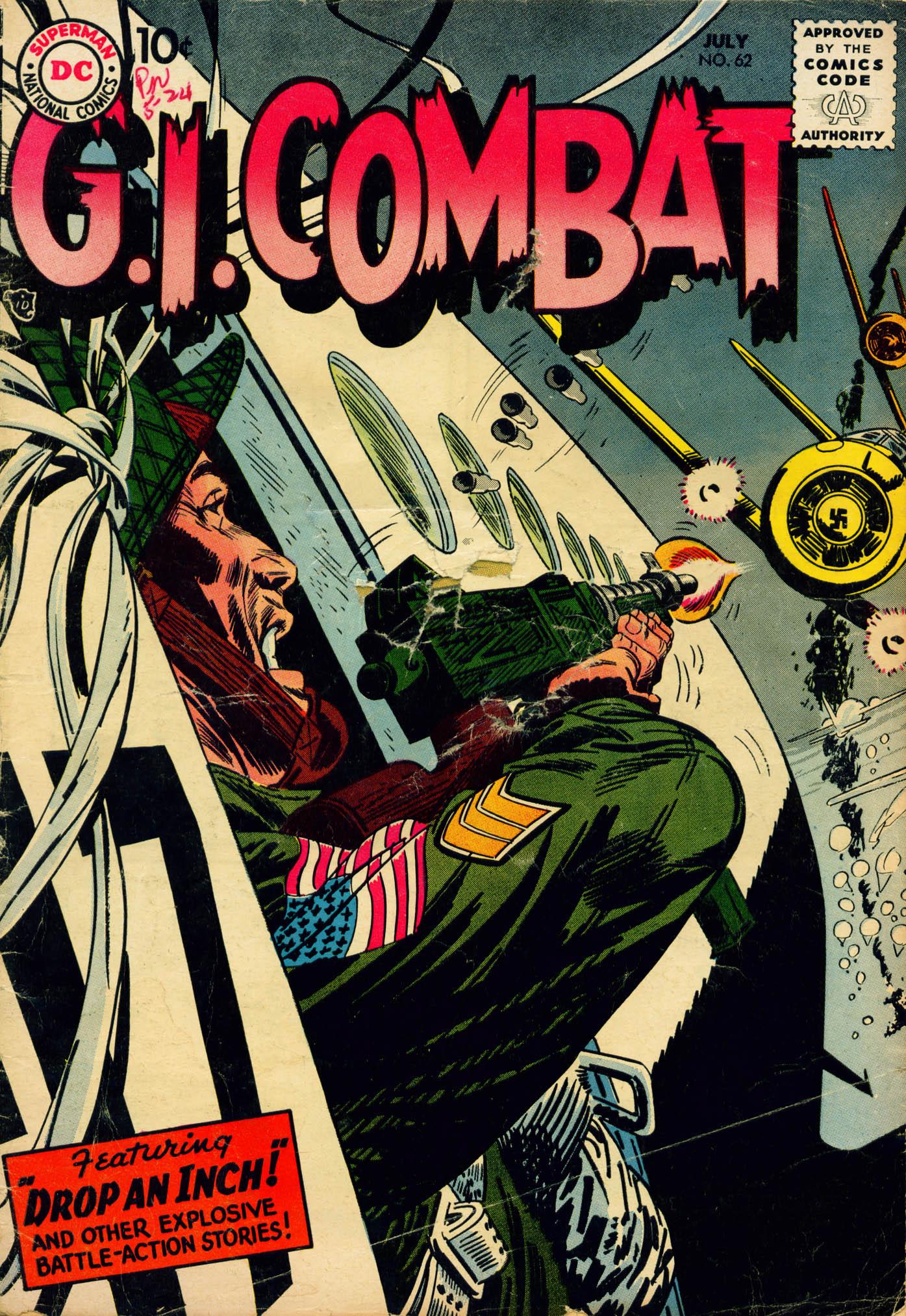 G.I. Combat (1952) 62 Page 1