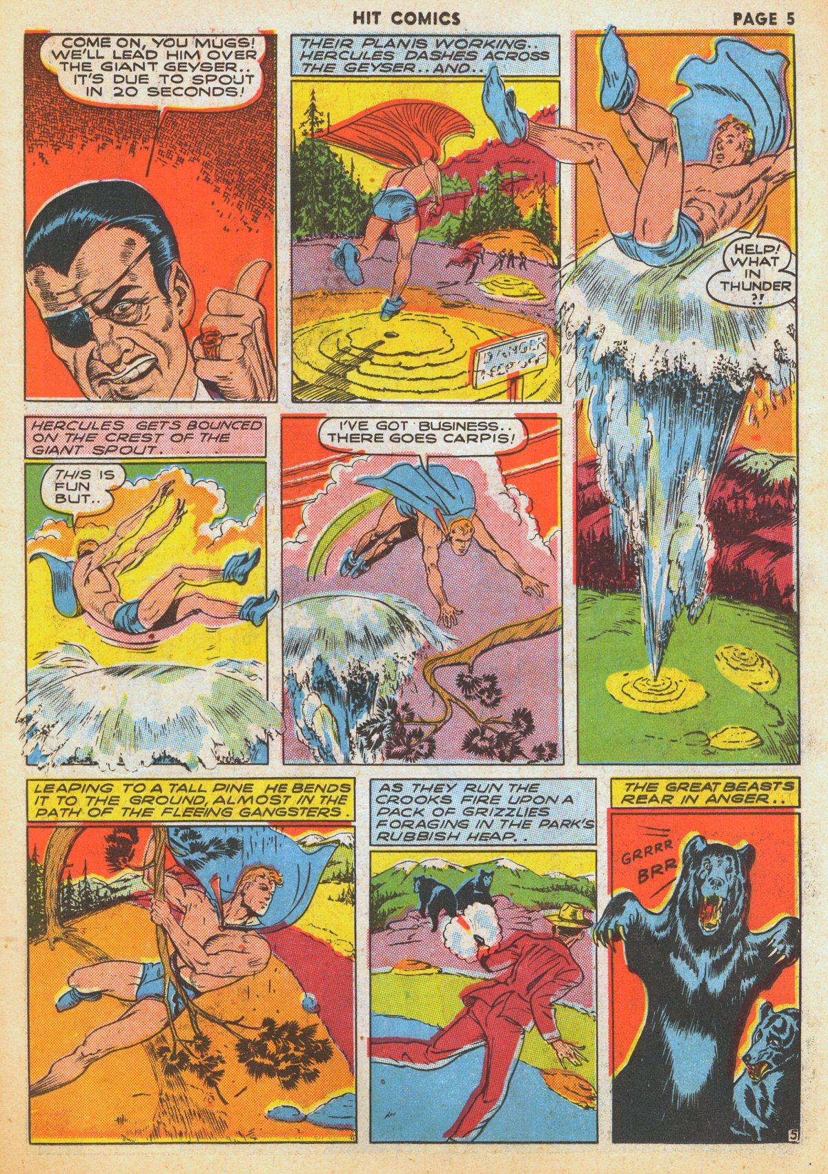 Read online Hit Comics comic -  Issue #12 - 7