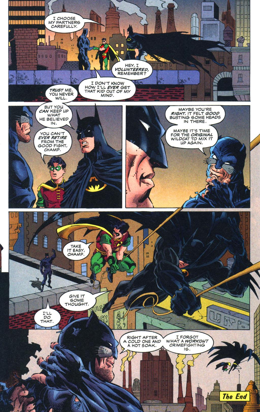 Read online Batman/Wildcat comic -  Issue #3 - 22