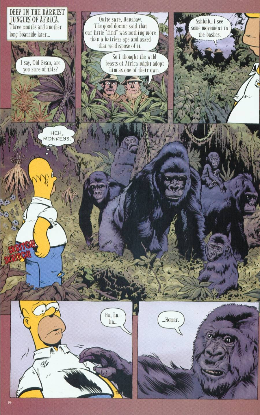 Read online Treehouse of Horror comic -  Issue #7 - 42