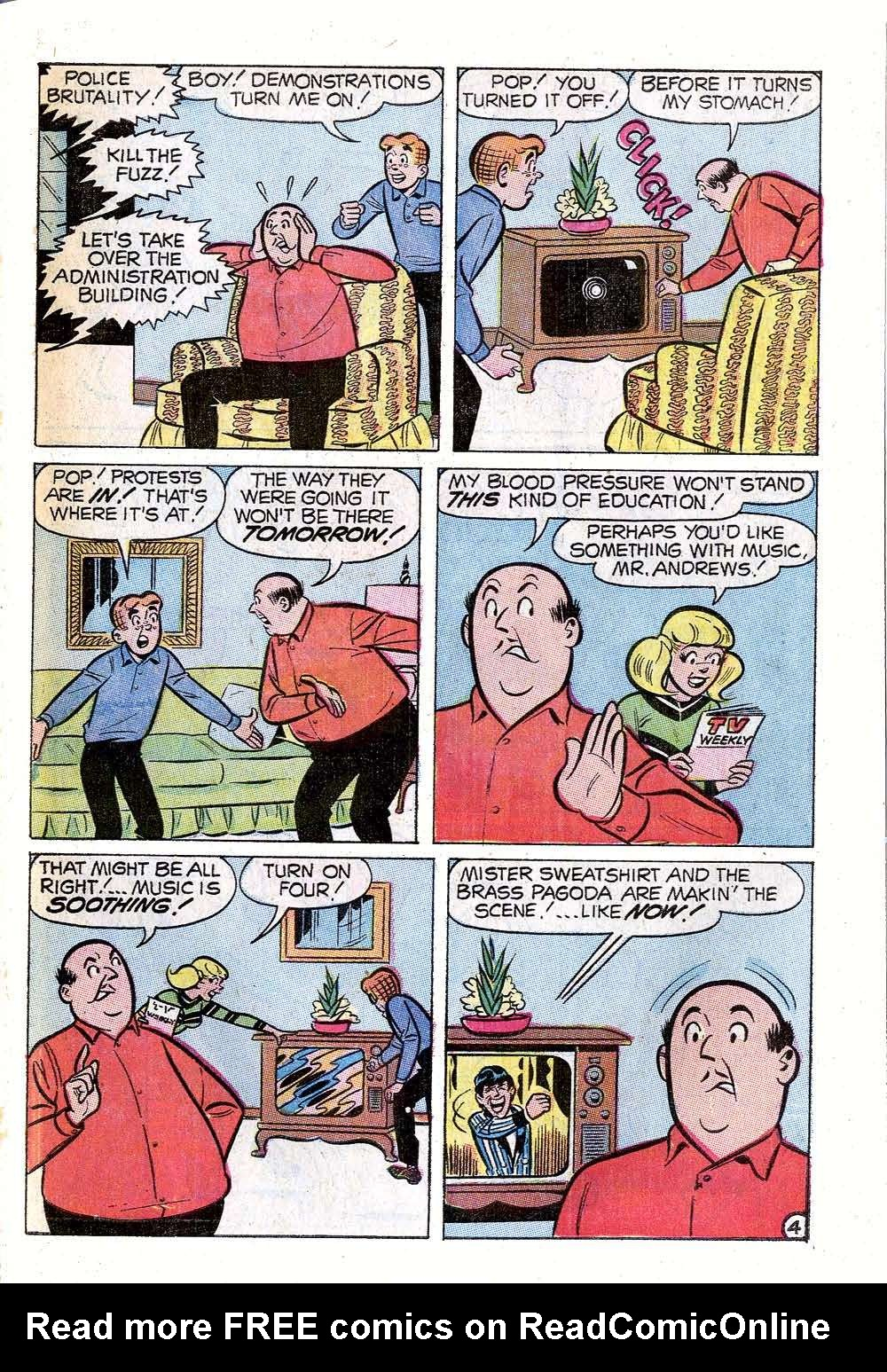 Read online Archie (1960) comic -  Issue #198 - 31