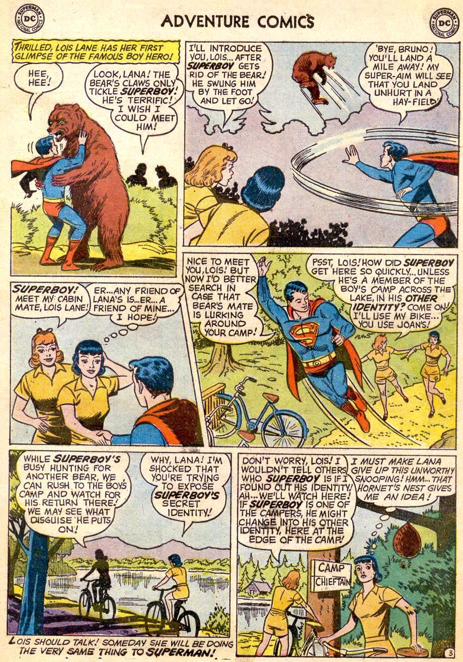 Read online Adventure Comics (1938) comic -  Issue #261 - 5