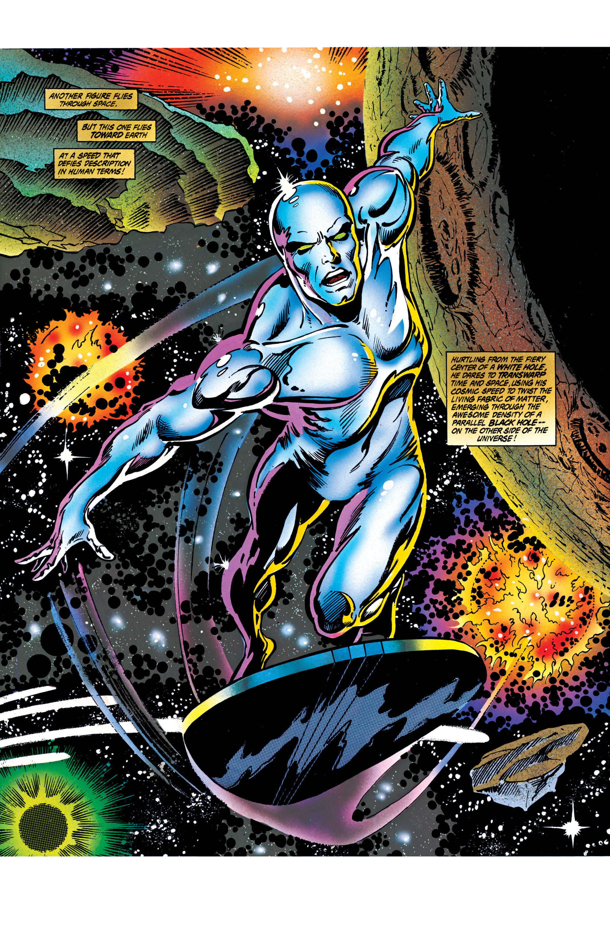 Read online Silver Surfer: Parable comic -  Issue # TPB - 61