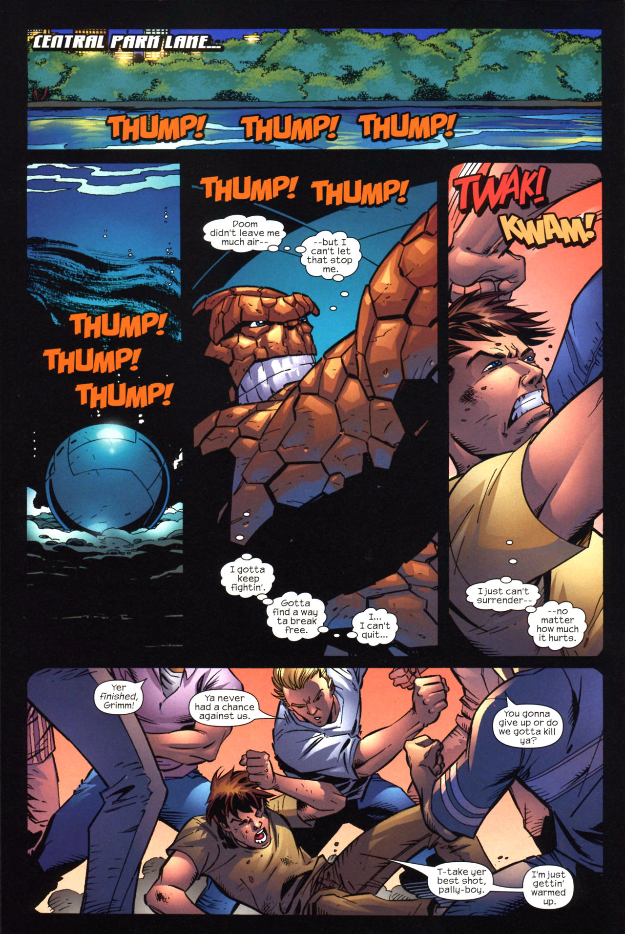 Read online Fantastic Five (2007) comic -  Issue #2 - 6