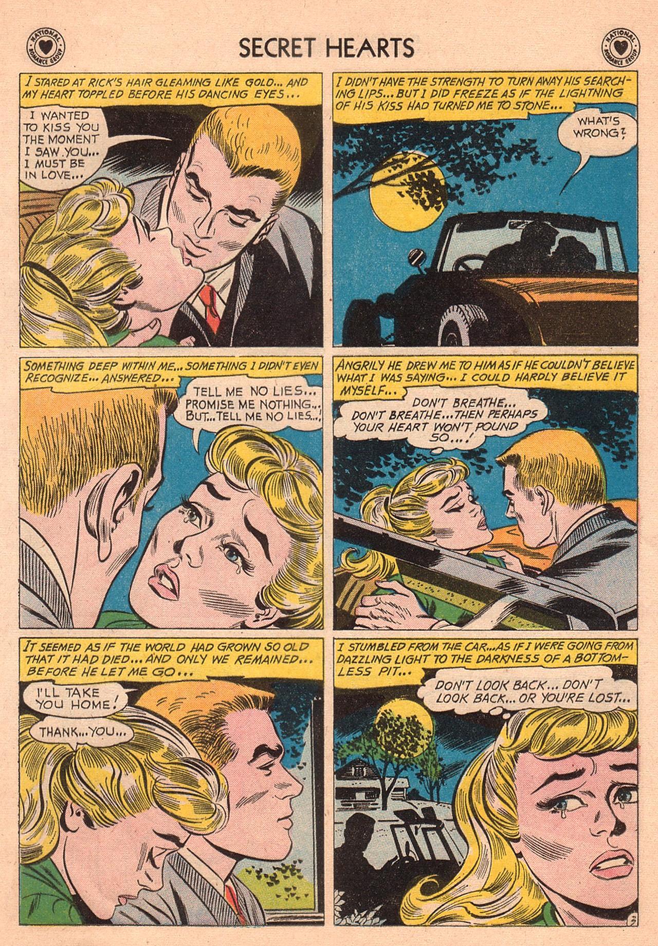 Read online Secret Hearts comic -  Issue #74 - 29