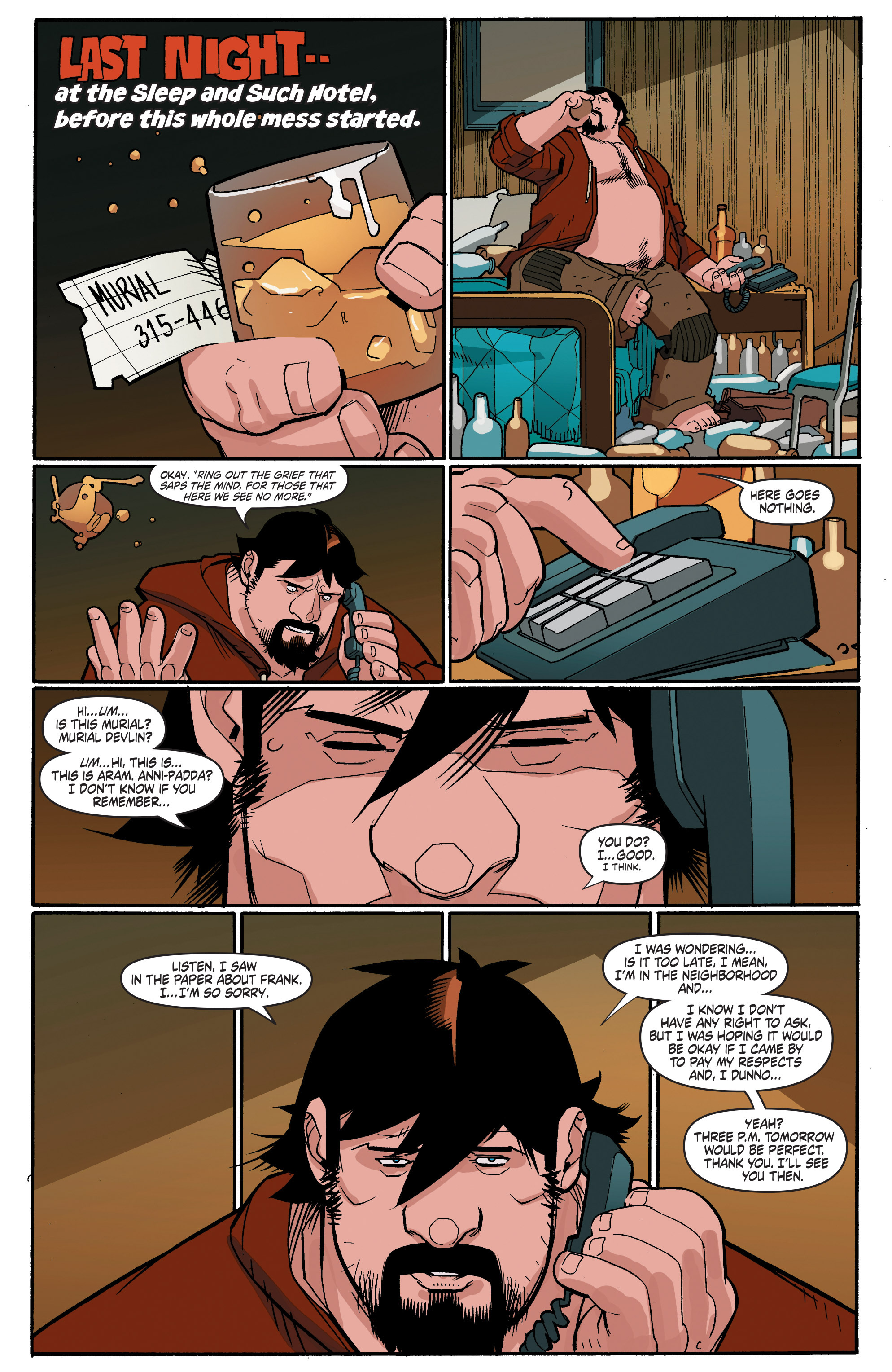 Read online A&A: The Adventures of Archer & Armstrong comic -  Issue #4 - 3