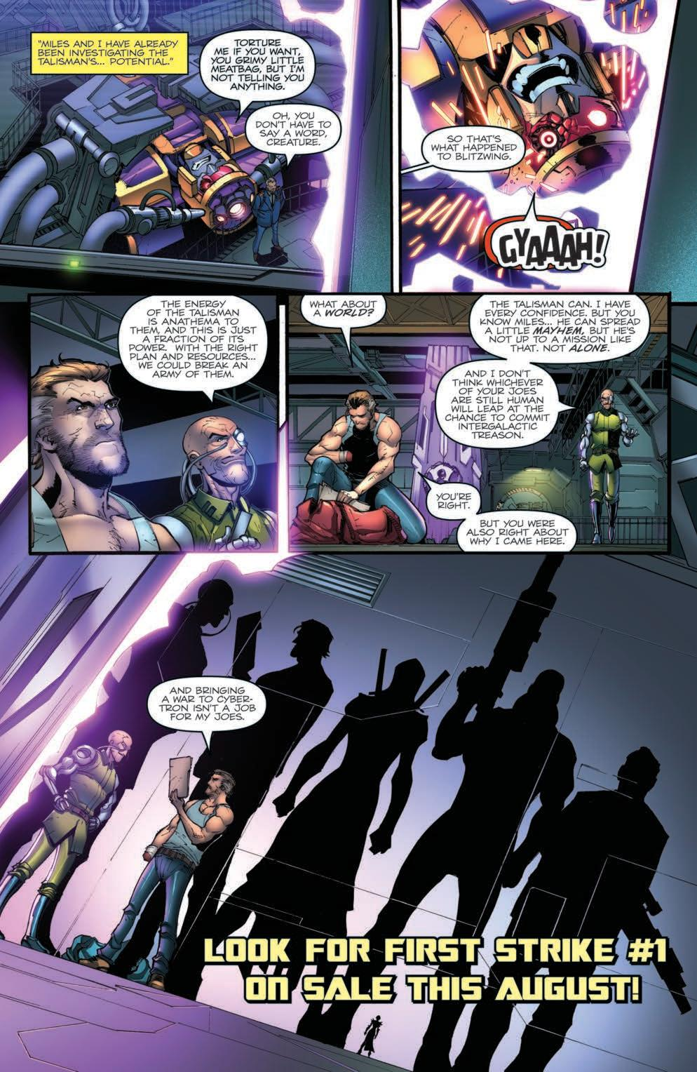 Read online First Strike comic -  Issue #0 - 7