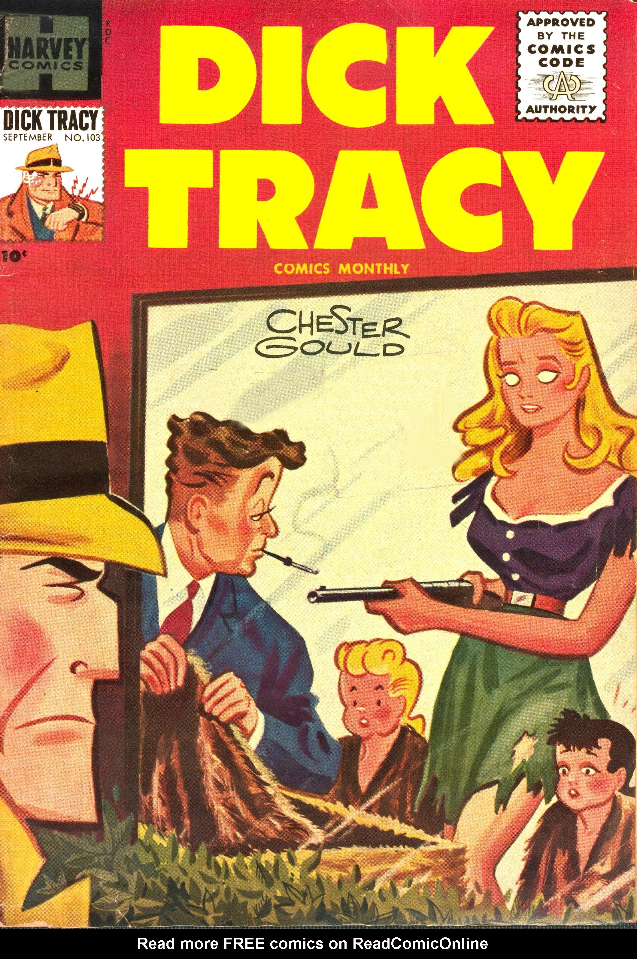 Dick Tracy (1950) 103 Page 1