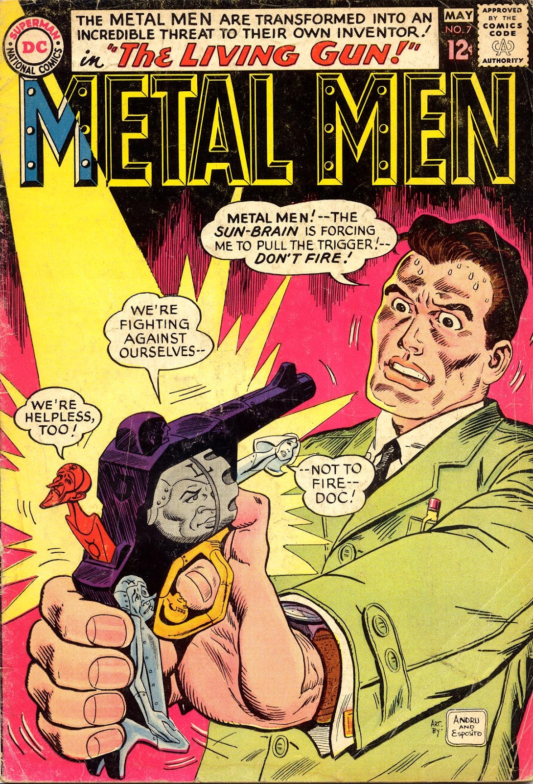 Metal Men (1963) issue 7 - Page 1