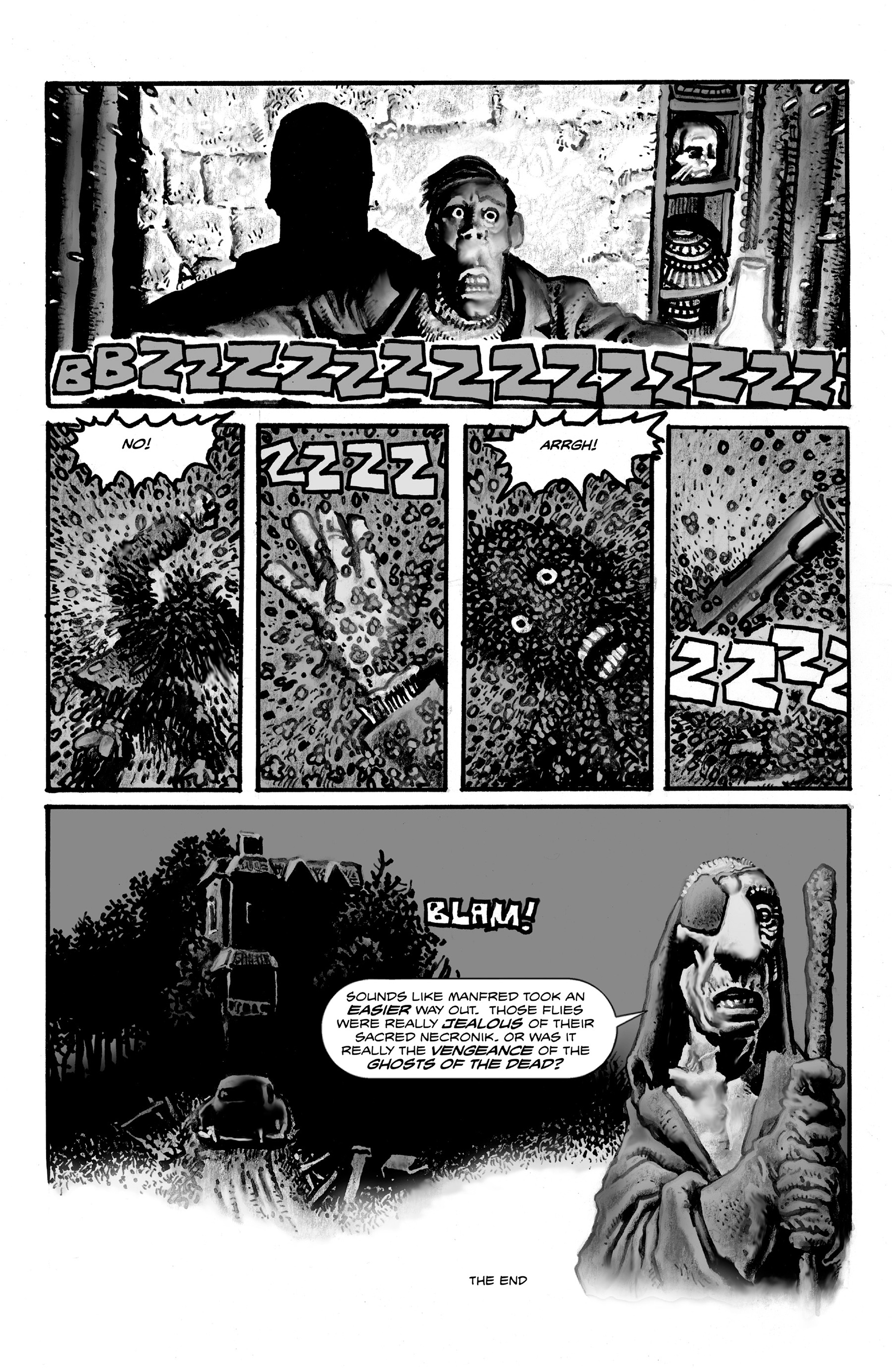 Read online Shadows on the Grave comic -  Issue #3 - 16