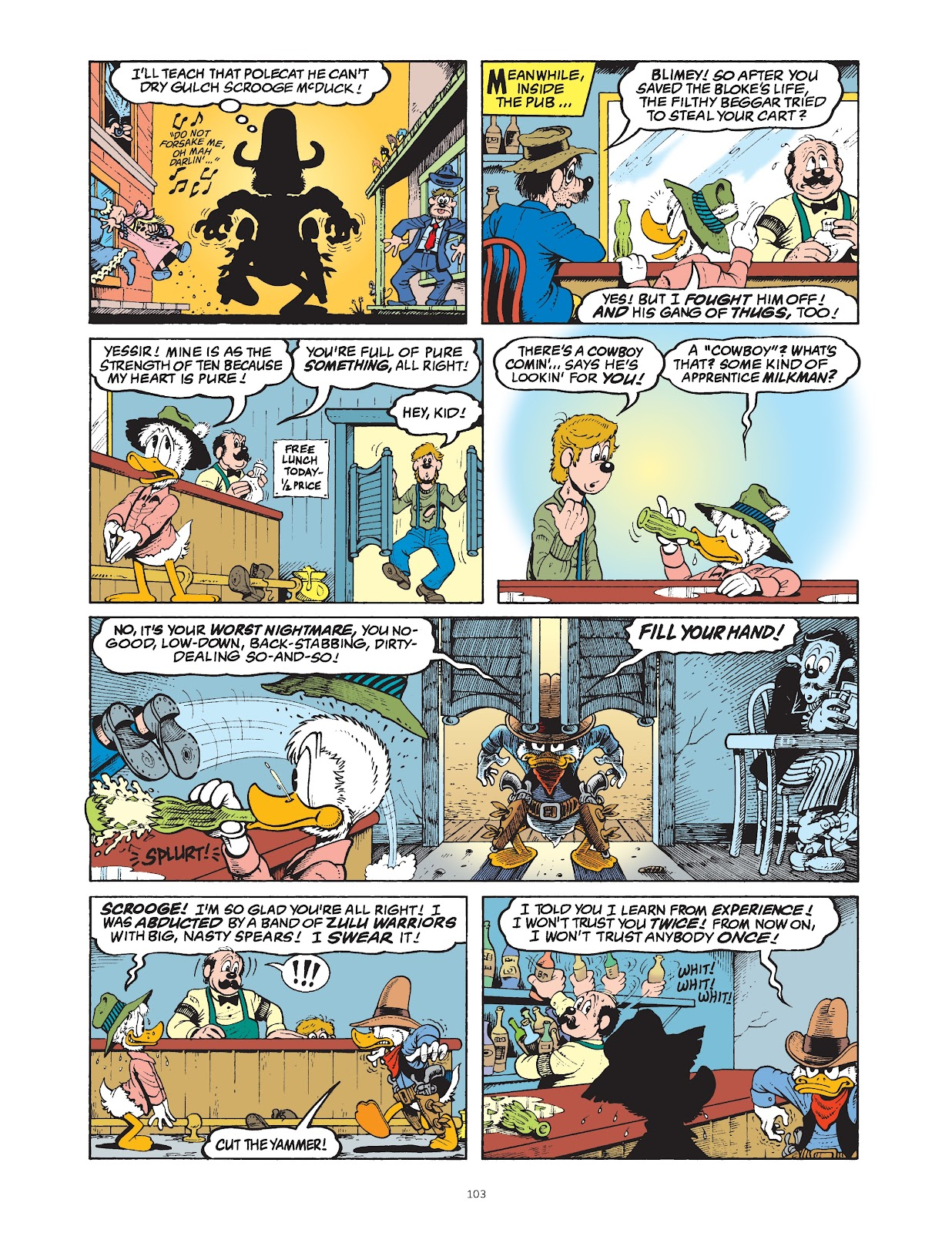 Read online The Complete Life and Times of Scrooge McDuck comic -  Issue # TPB 1 (Part 2) - 5