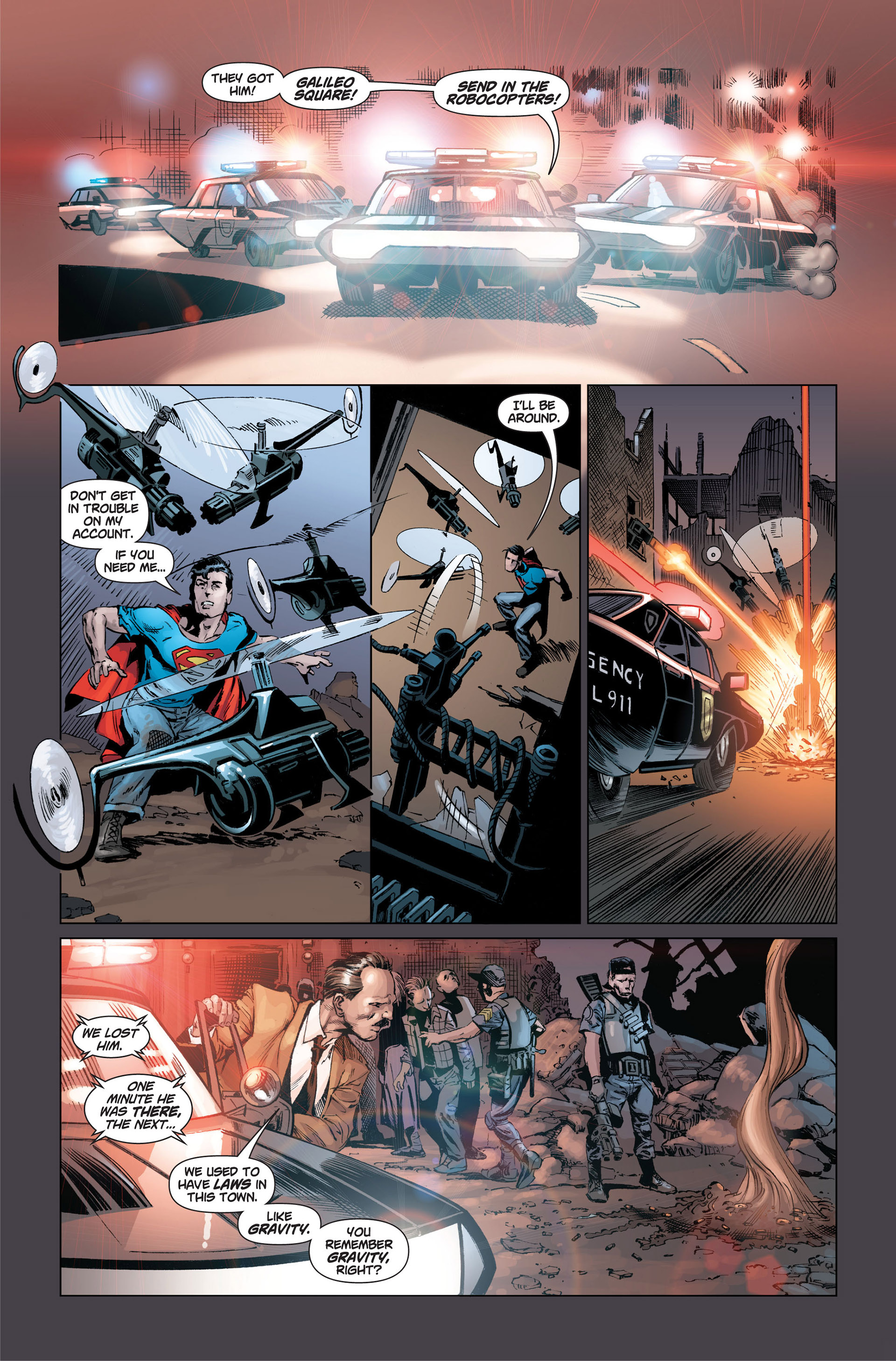Read online Action Comics (2011) comic -  Issue #1 - 23