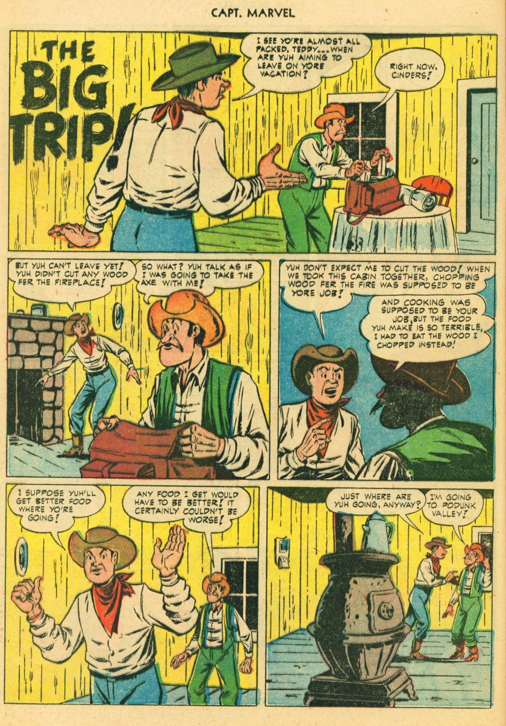 Captain Marvel Adventures issue 130 - Page 24