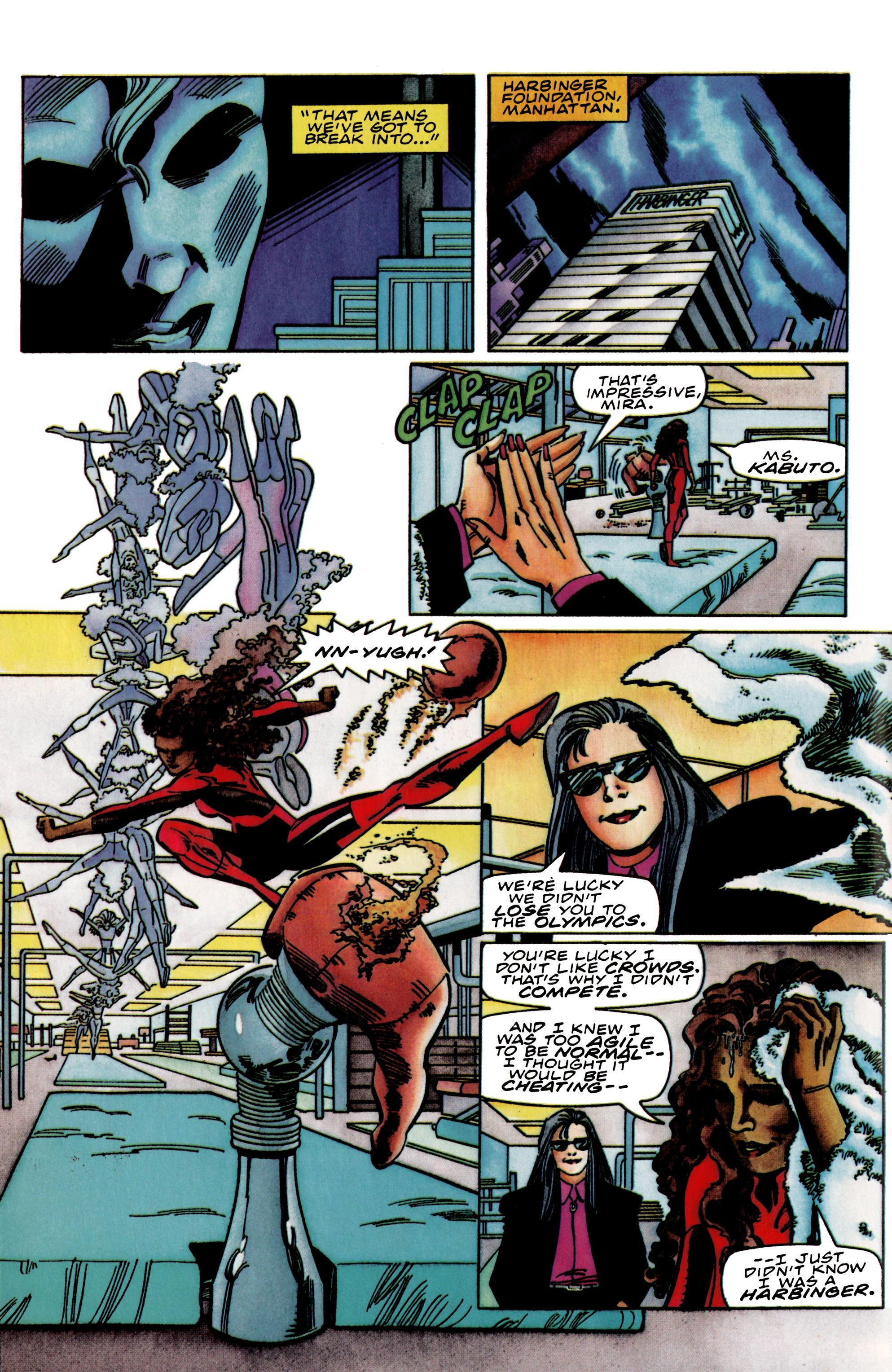 Read online Harbinger (1992) comic -  Issue #39 - 8