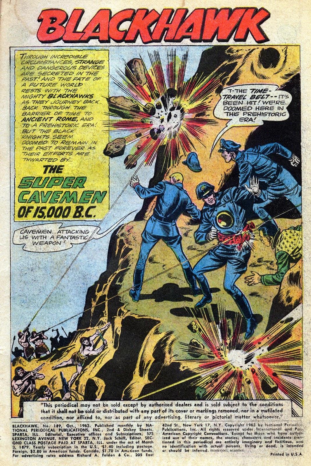 Blackhawk (1957) Issue #189 #82 - English 3