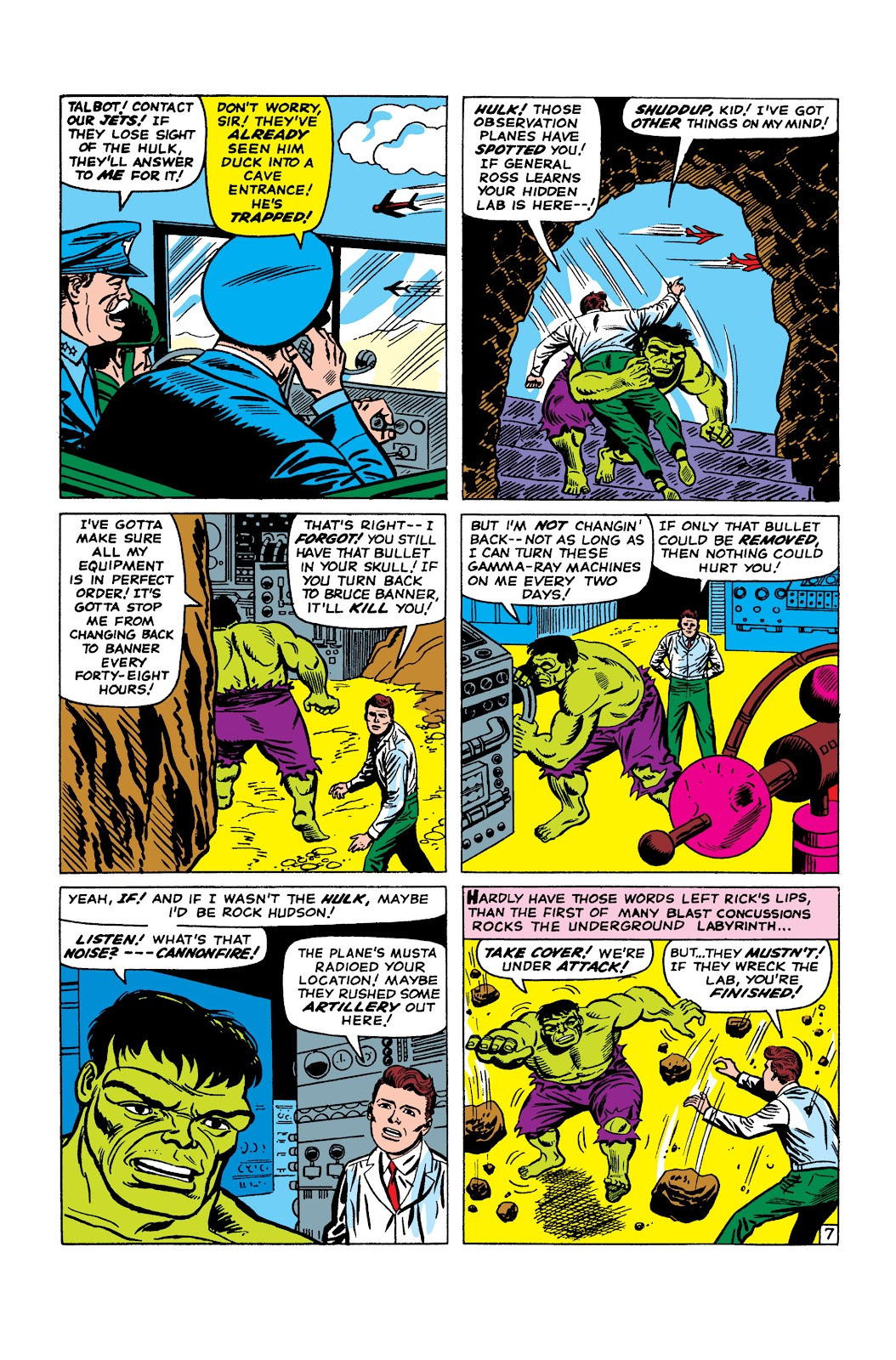 Read online Marvel Masterworks: The Incredible Hulk comic -  Issue # TPB 2 (Part 2) - 52
