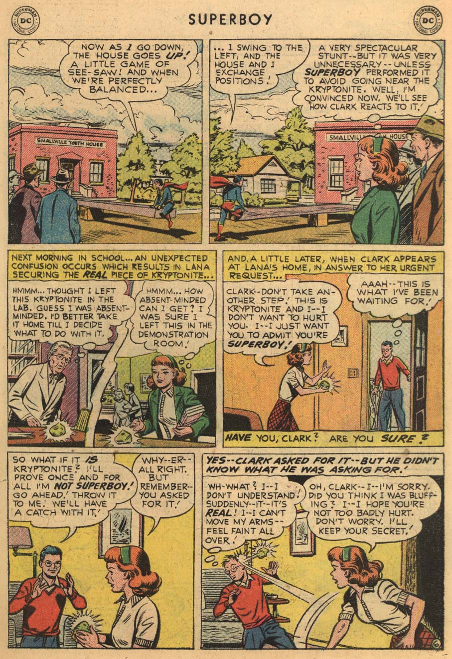 Superboy (1949) issue 45 - Page 27