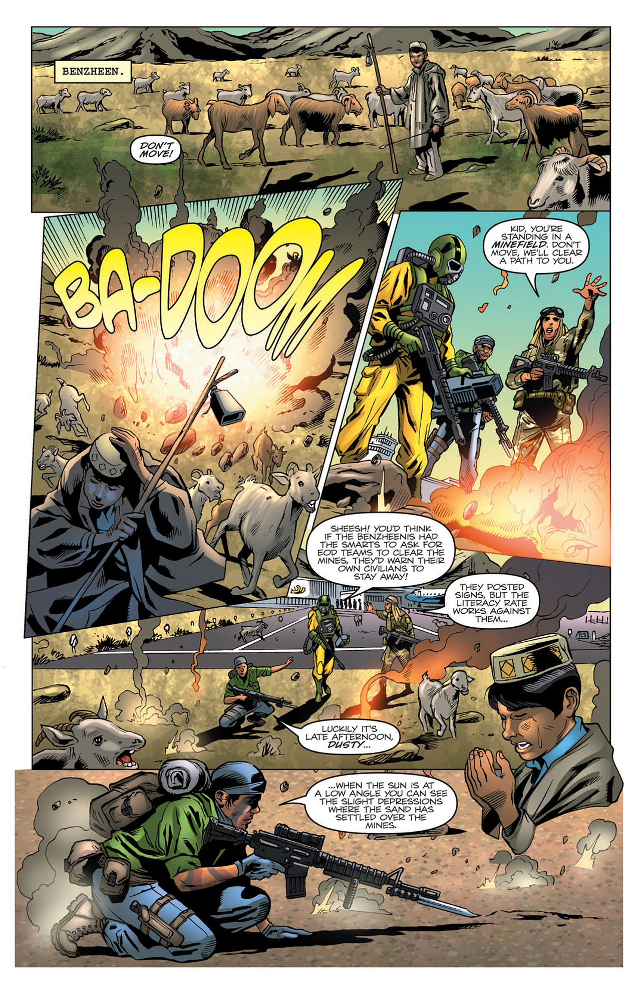 G.I. Joe: A Real American Hero 183 Page 21