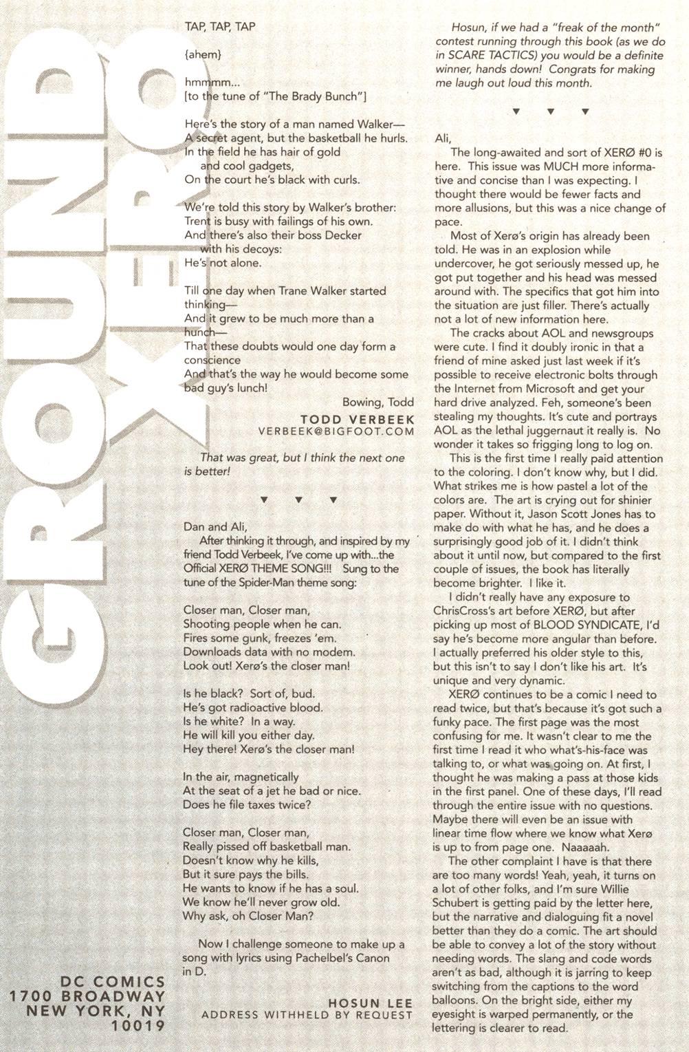 Read online Xero comic -  Issue #11 - 26