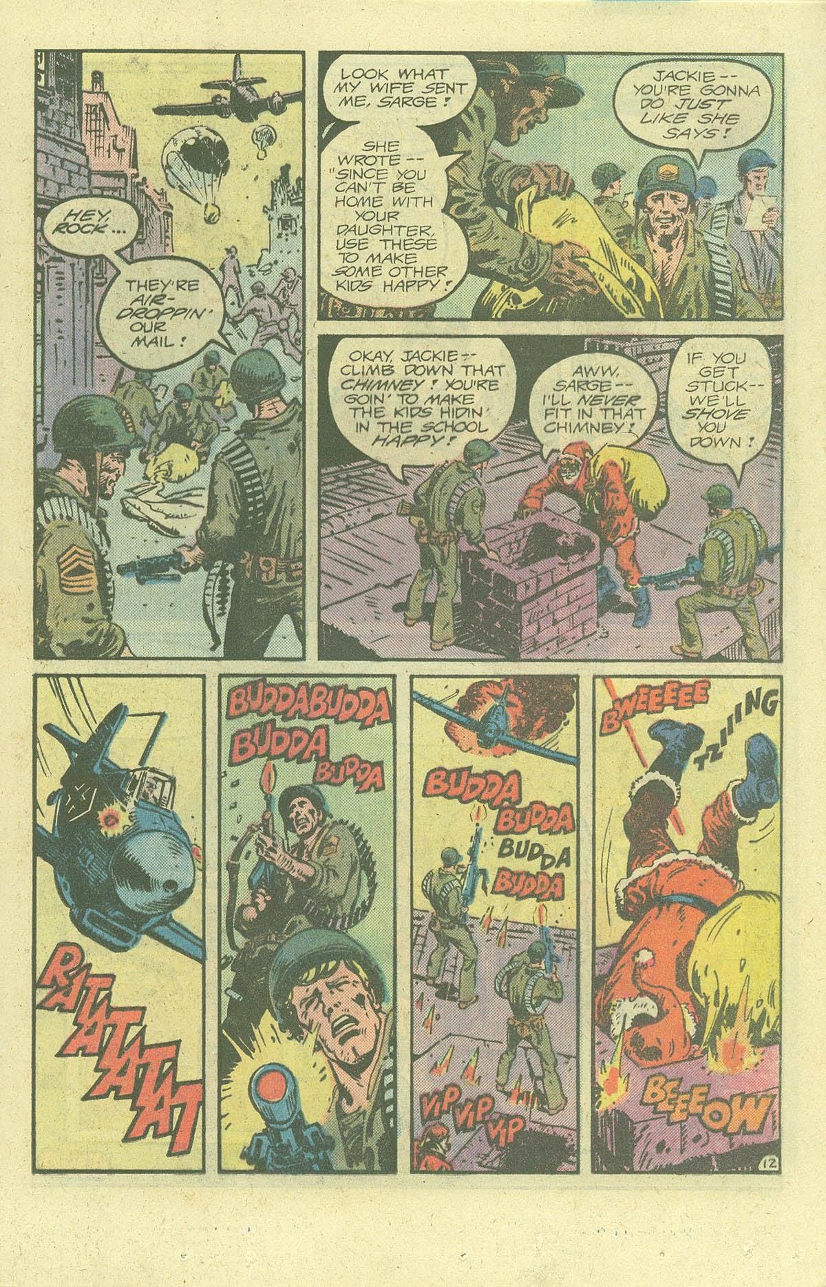 Read online Sgt. Rock comic -  Issue #378 - 16
