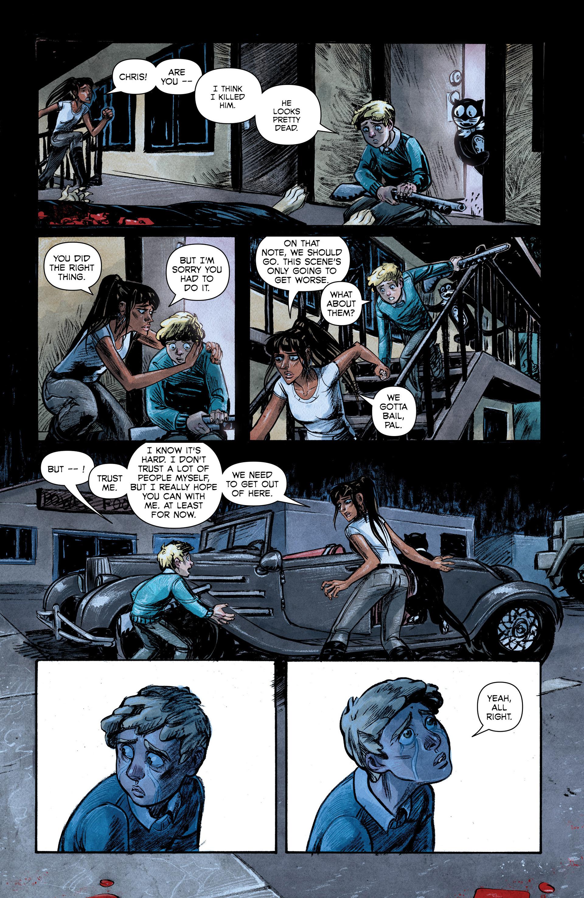 Read online Shutter comic -  Issue #6 - 18