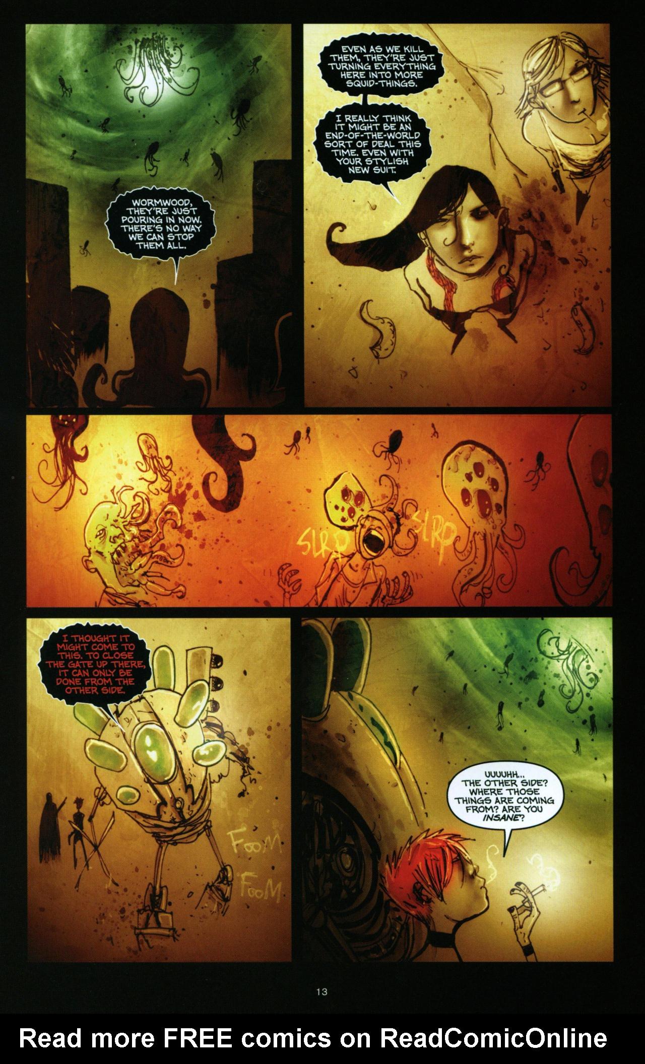 Read online Wormwood: Gentleman Corpse comic -  Issue #10 - 14