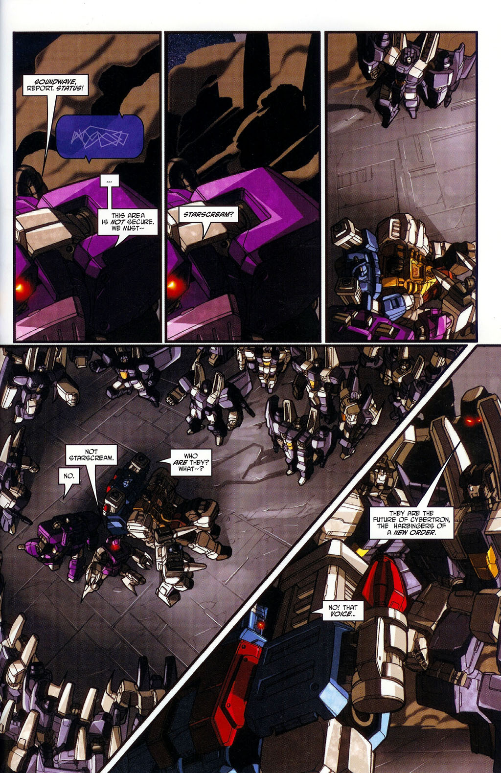 """Read online Transformers War Within: """"The Age of Wrath"""" comic -  Issue #1 - 26"""