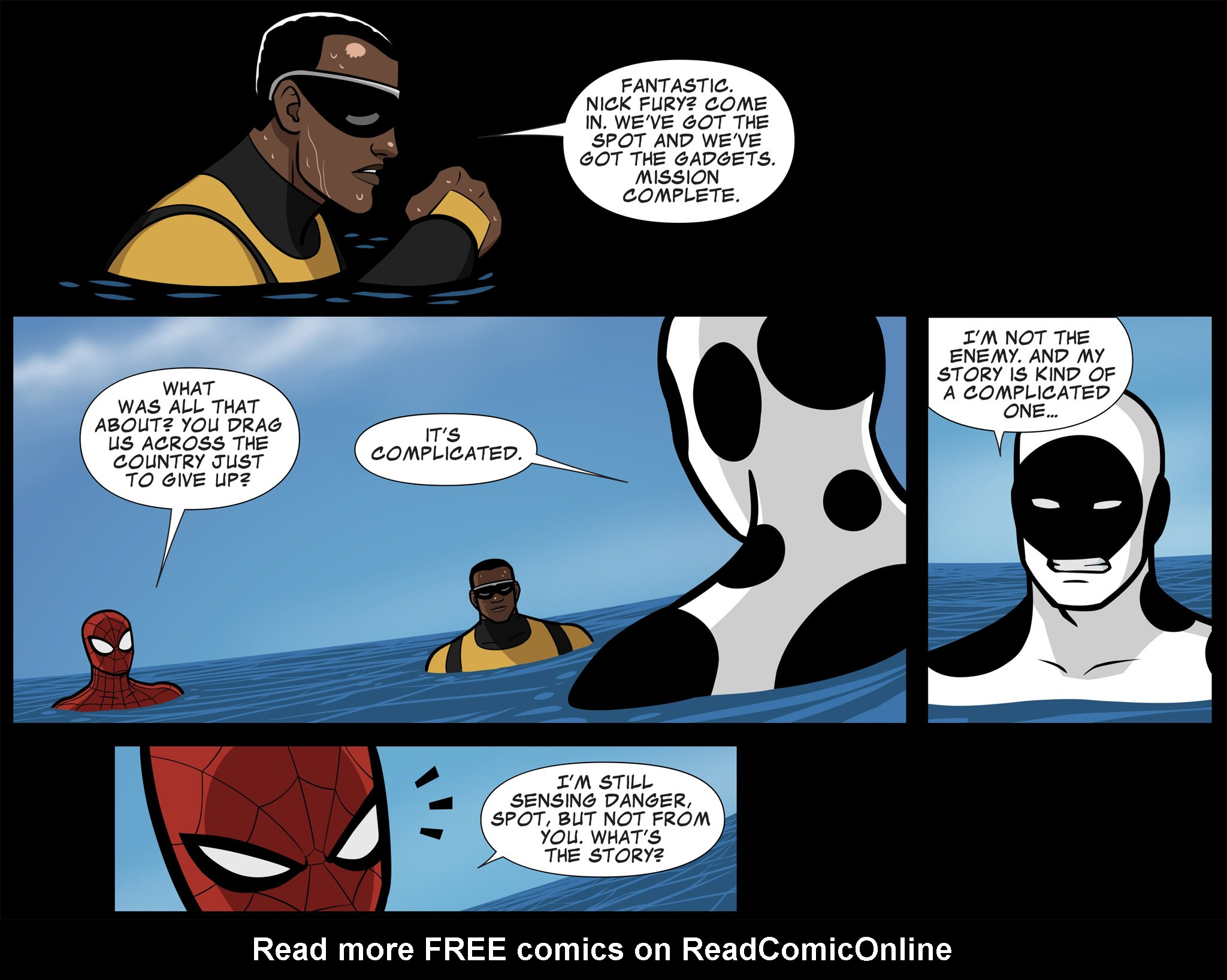 Read online Ultimate Spider-Man (Infinite Comics) (2015) comic -  Issue #11 - 22