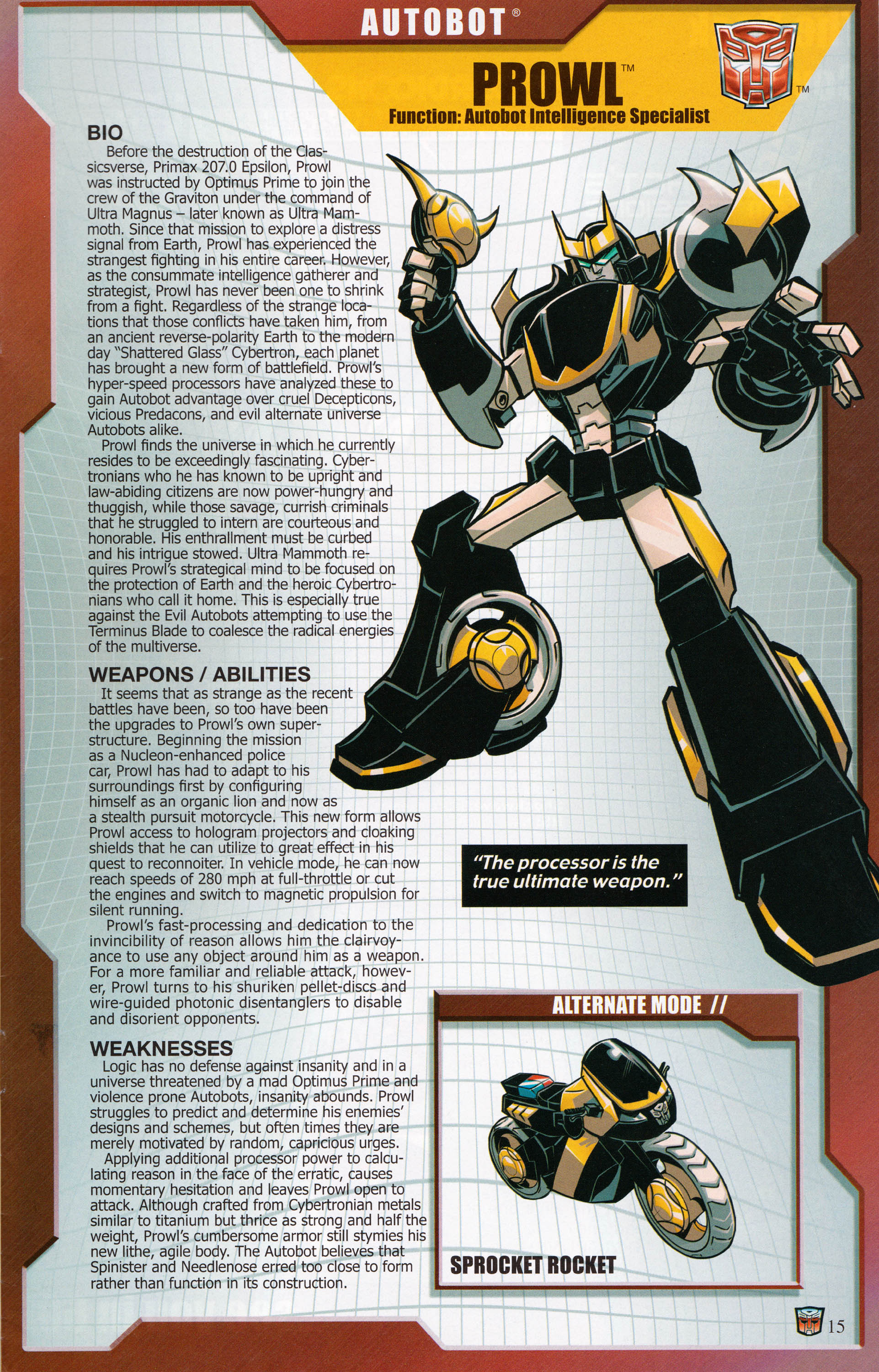 Read online Transformers: Collectors' Club comic -  Issue #62 - 15