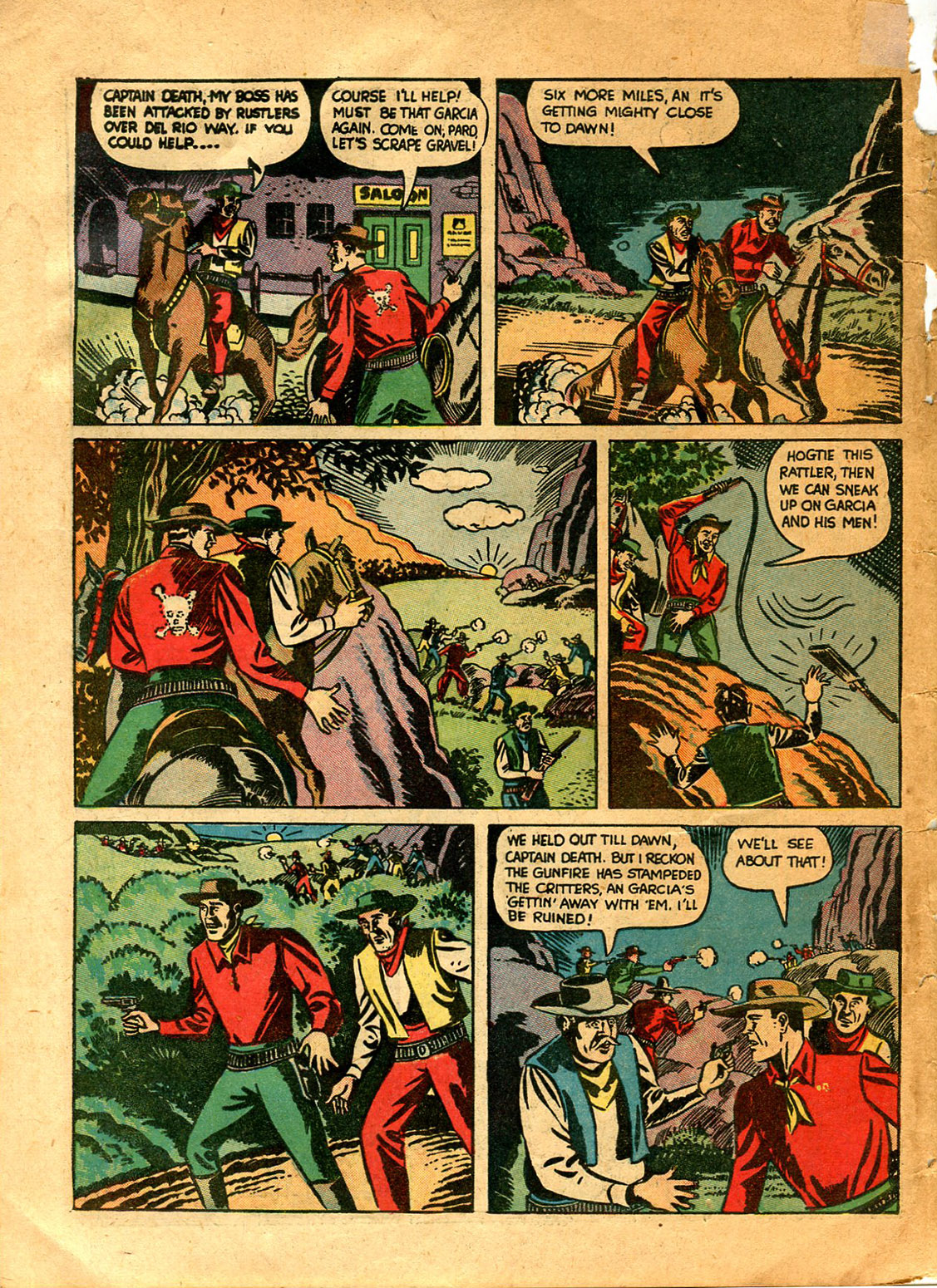 Read online Shadow Comics comic -  Issue #9 - 58