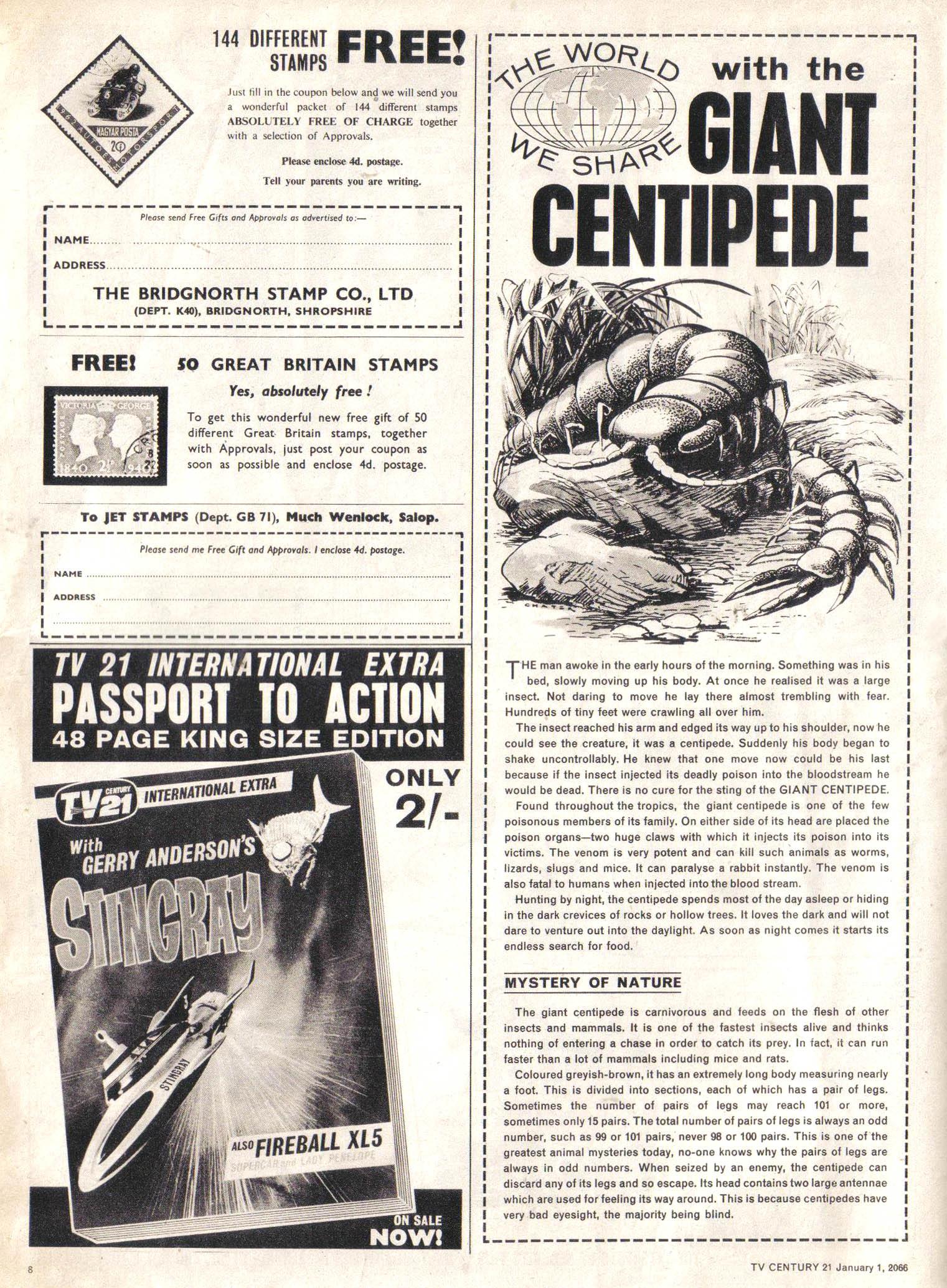 Read online TV Century 21 (TV 21) comic -  Issue #50 - 8