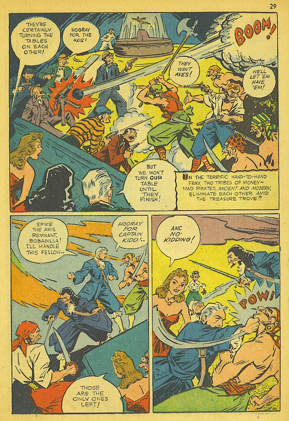 Read online Super-Magician Comics comic -  Issue #19 - 29