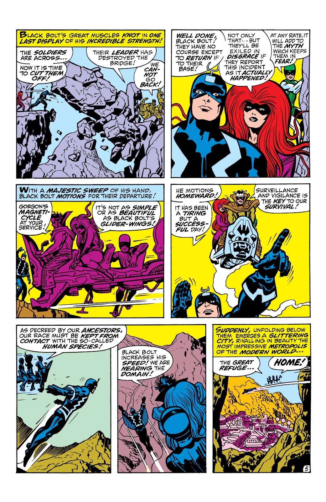 Read online Marvel Masterworks: The Inhumans comic -  Issue # TPB 1 (Part 1) - 74