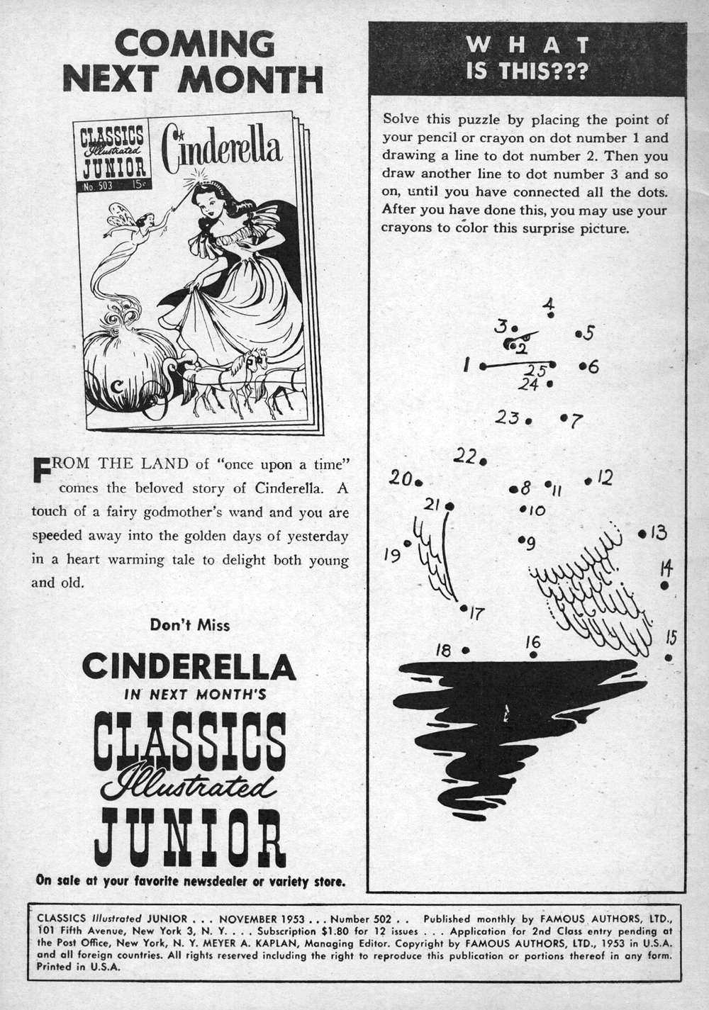 Classics Illustrated Junior 502 Page 2