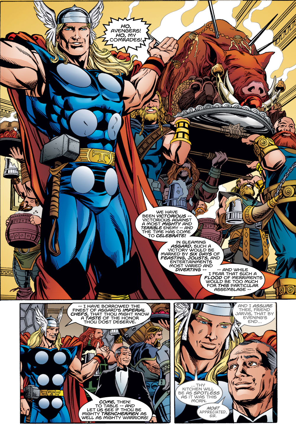 Read online Avengers (1998) comic -  Issue #55 - 18