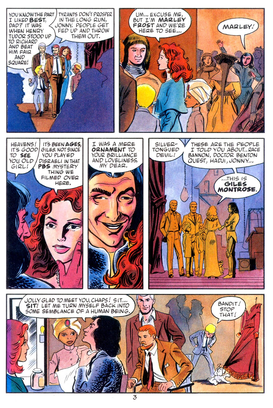 Jonny Quest (1986) issue 10 - Page 5