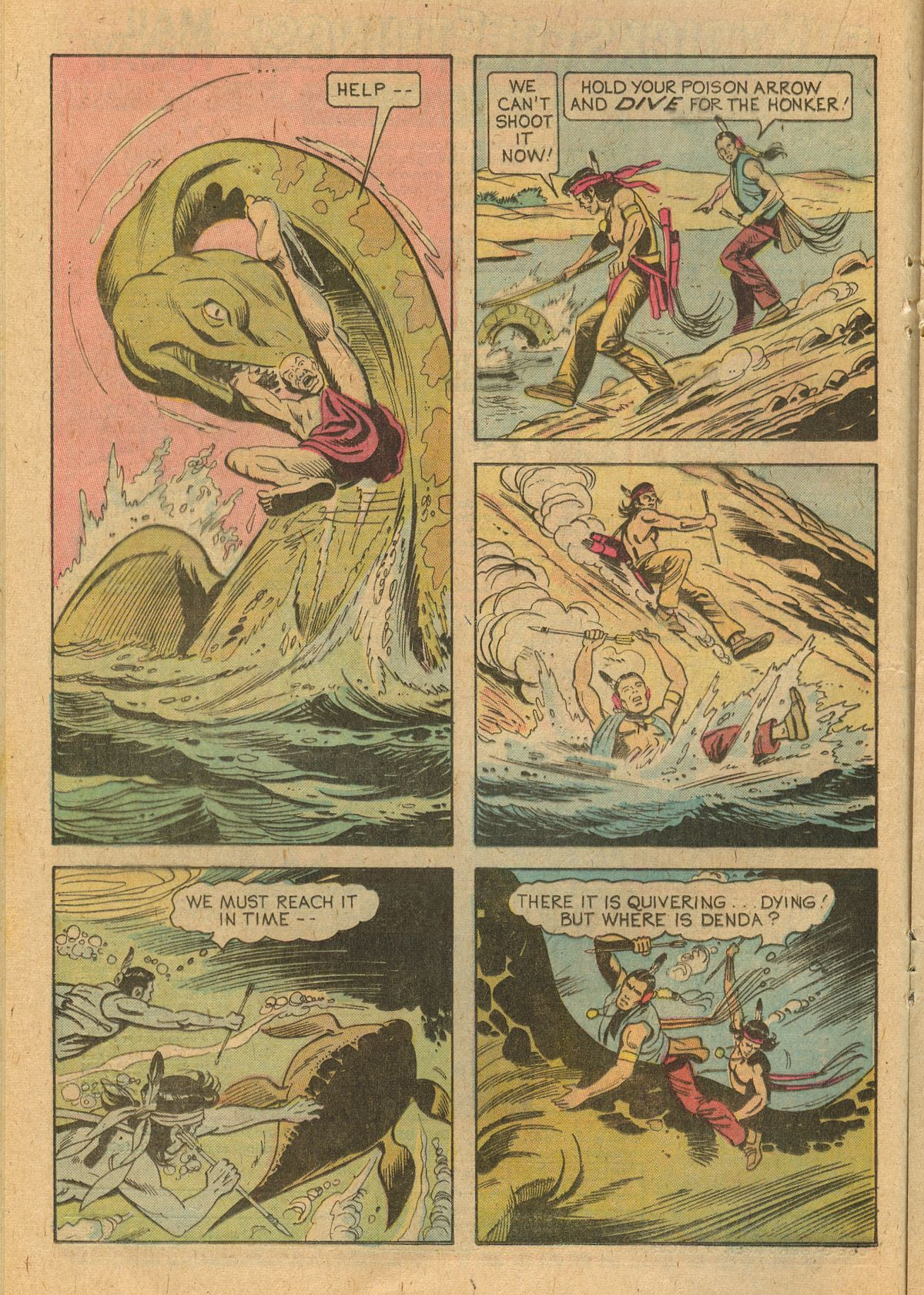 Read online Turok, Son of Stone comic -  Issue #105 - 16