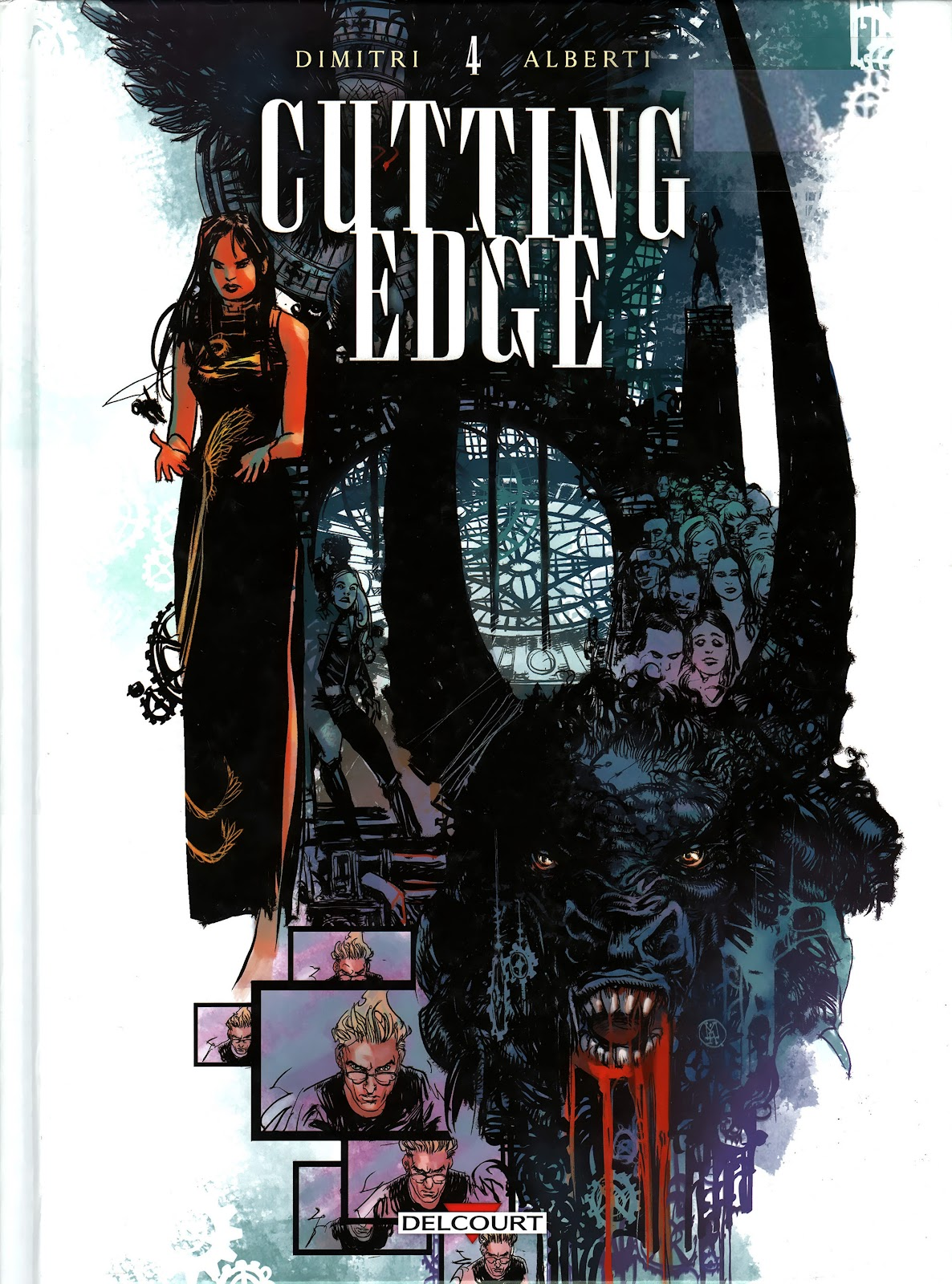 Read online Cutting Edge (2013) comic -  Issue #4 - 1