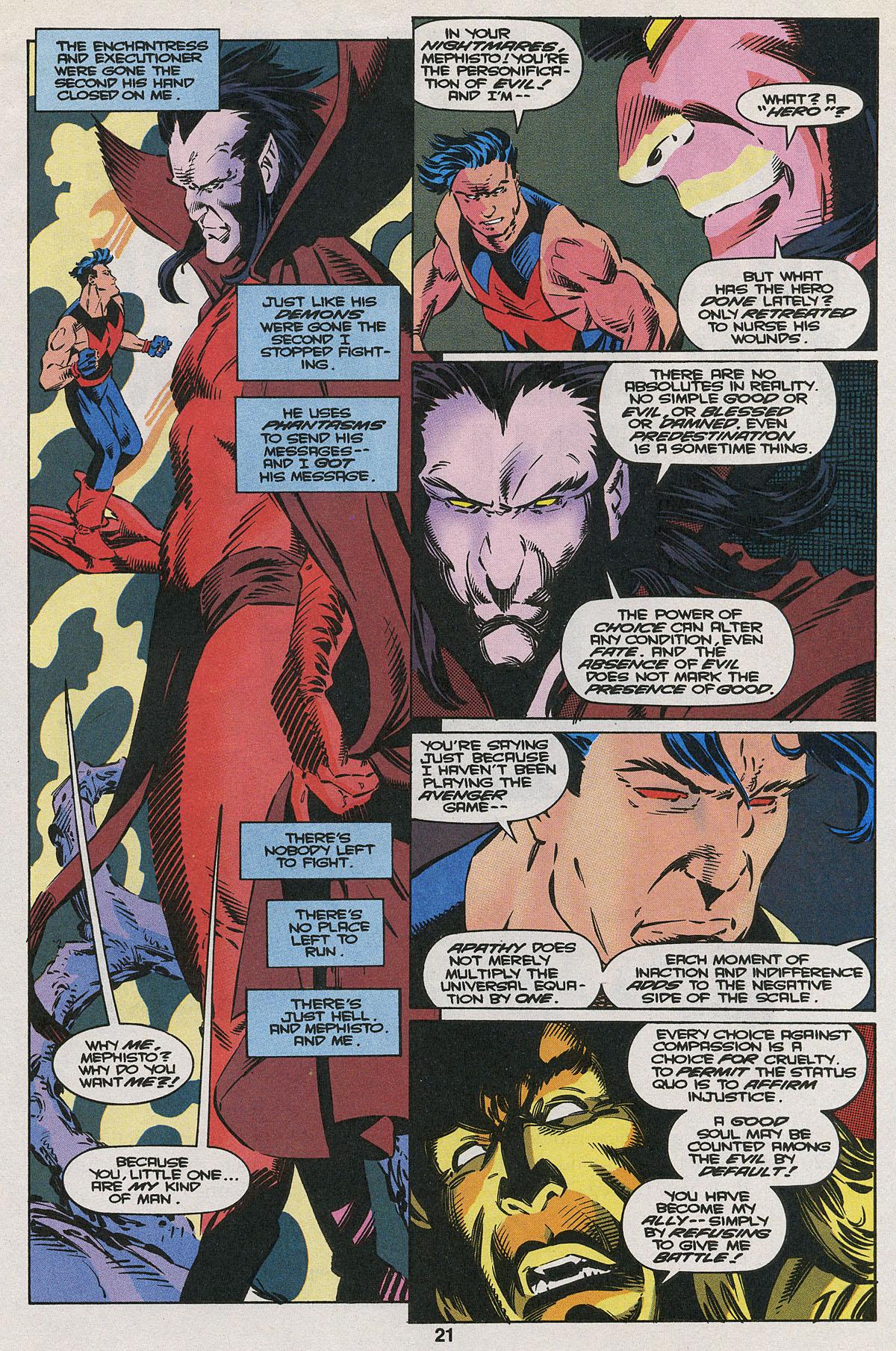 Read online Wonder Man (1991) comic -  Issue #22 - 16