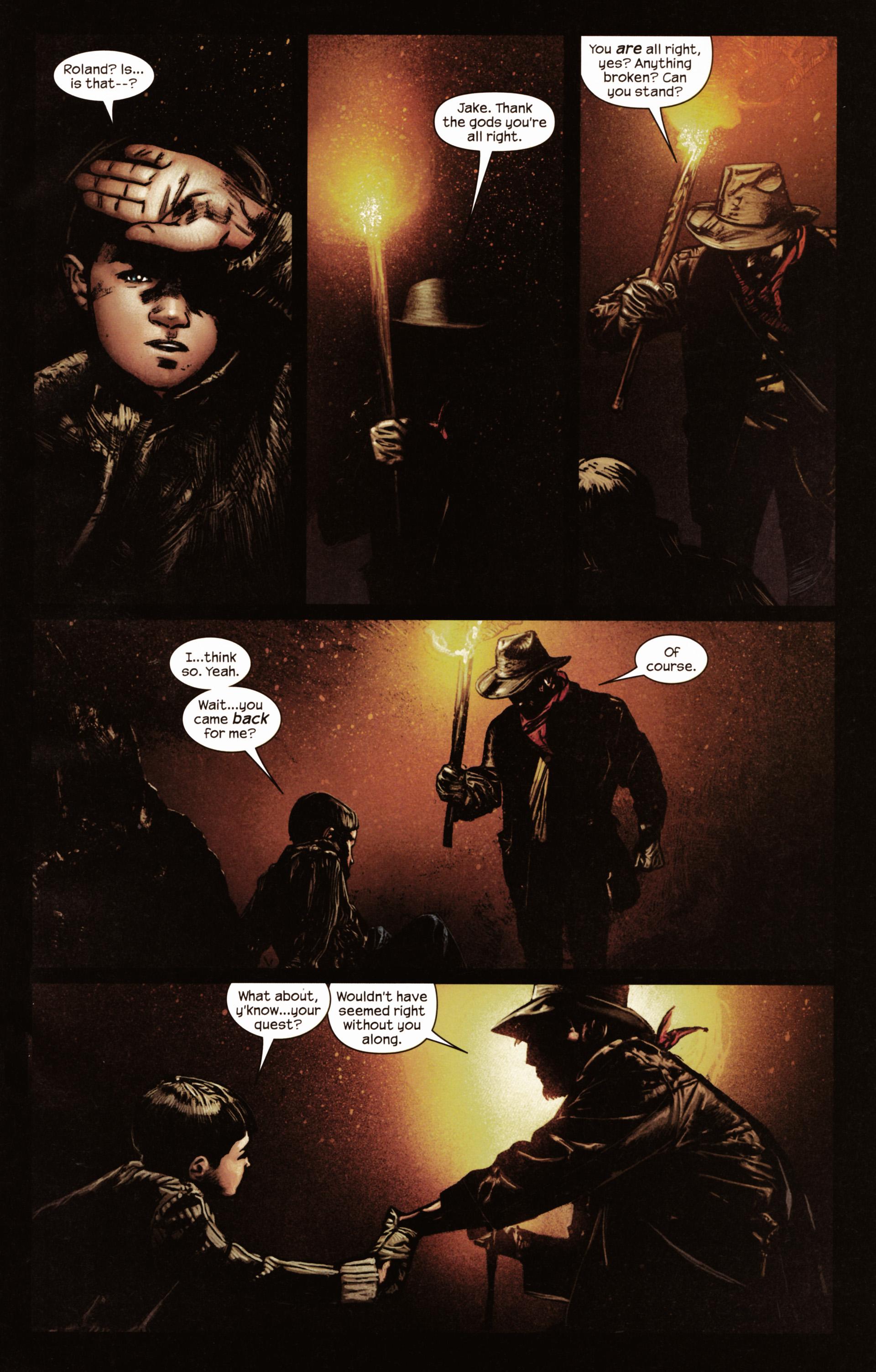 Read online Dark Tower: The Gunslinger - The Man in Black comic -  Issue #2 - 4