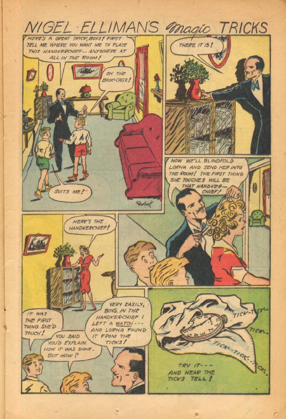 Read online Super-Magician Comics comic -  Issue #54 - 20