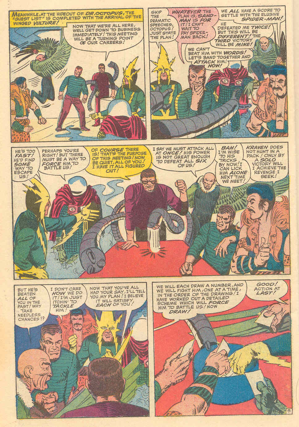 The Amazing Spider-Man (1963) _Annual_6 Page 8