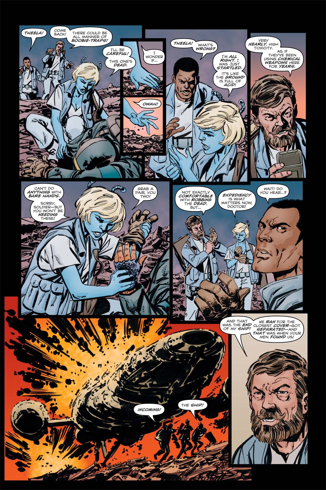 Read online Star Trek: Leonard McCoy, Frontier Doctor comic -  Issue #3 - 12