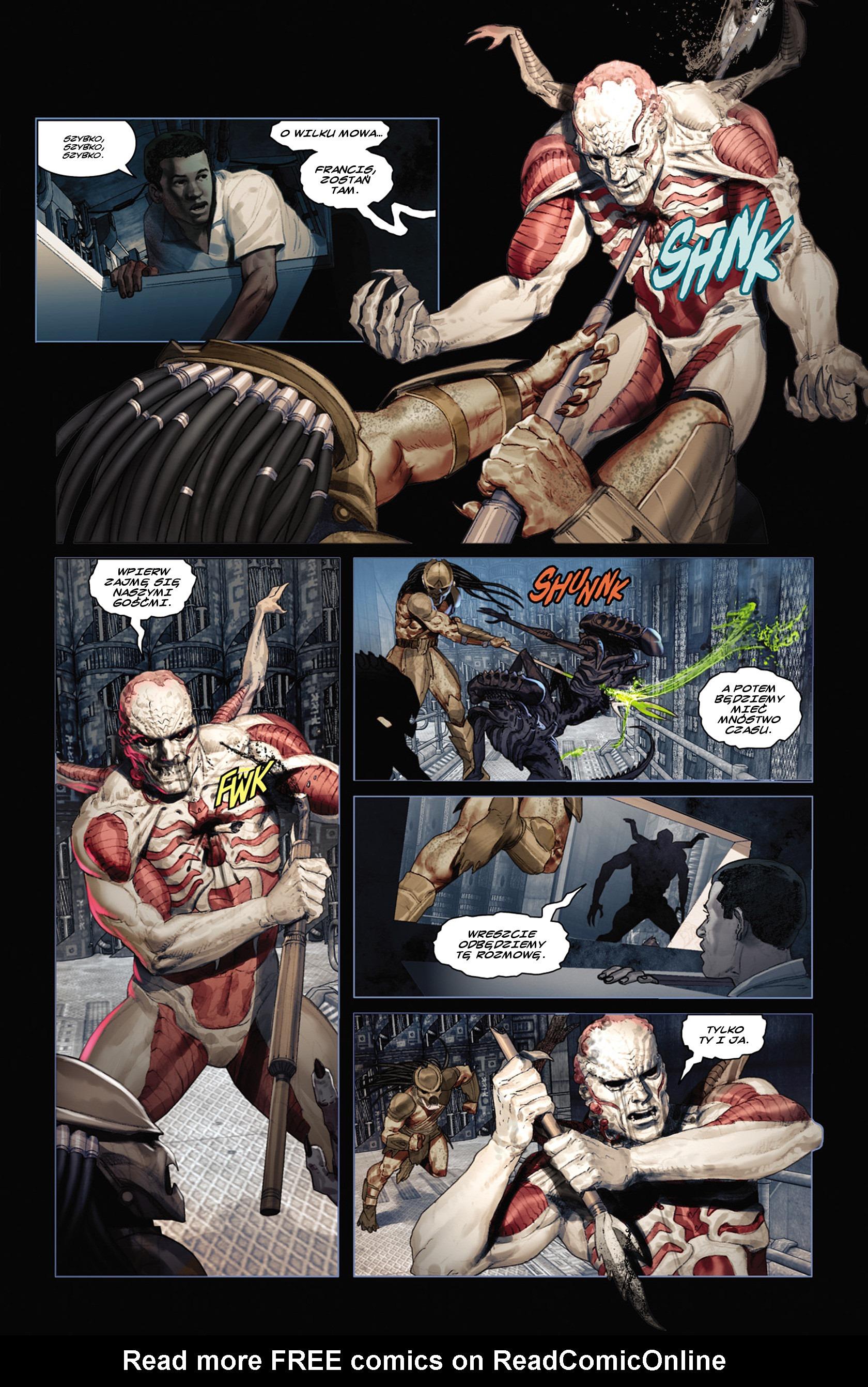 Read online Alien vs. Predator: Fire and Stone comic -  Issue #2 - 5